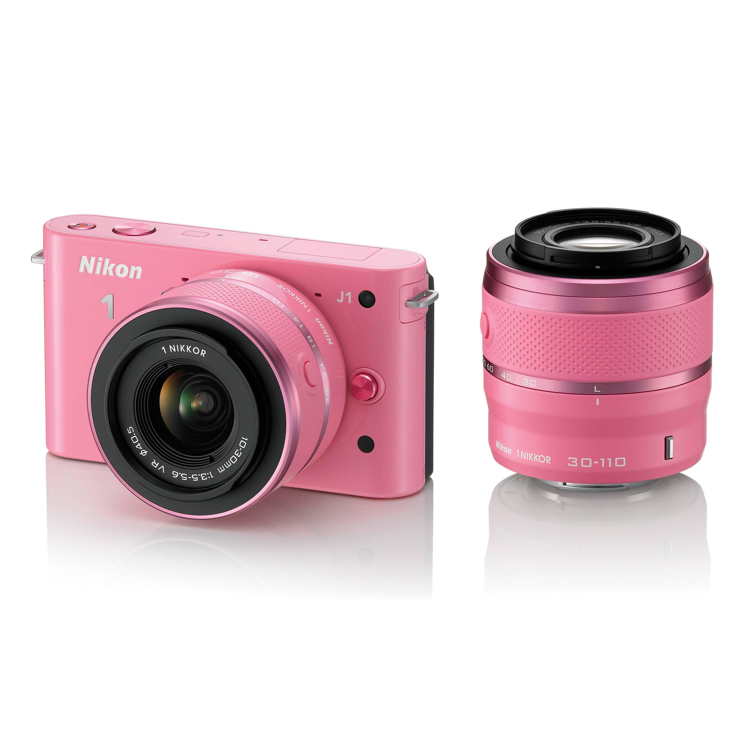 Nikon 1 J1 Mirrorless Digital Camera with 10-30mm / 27549 B&H