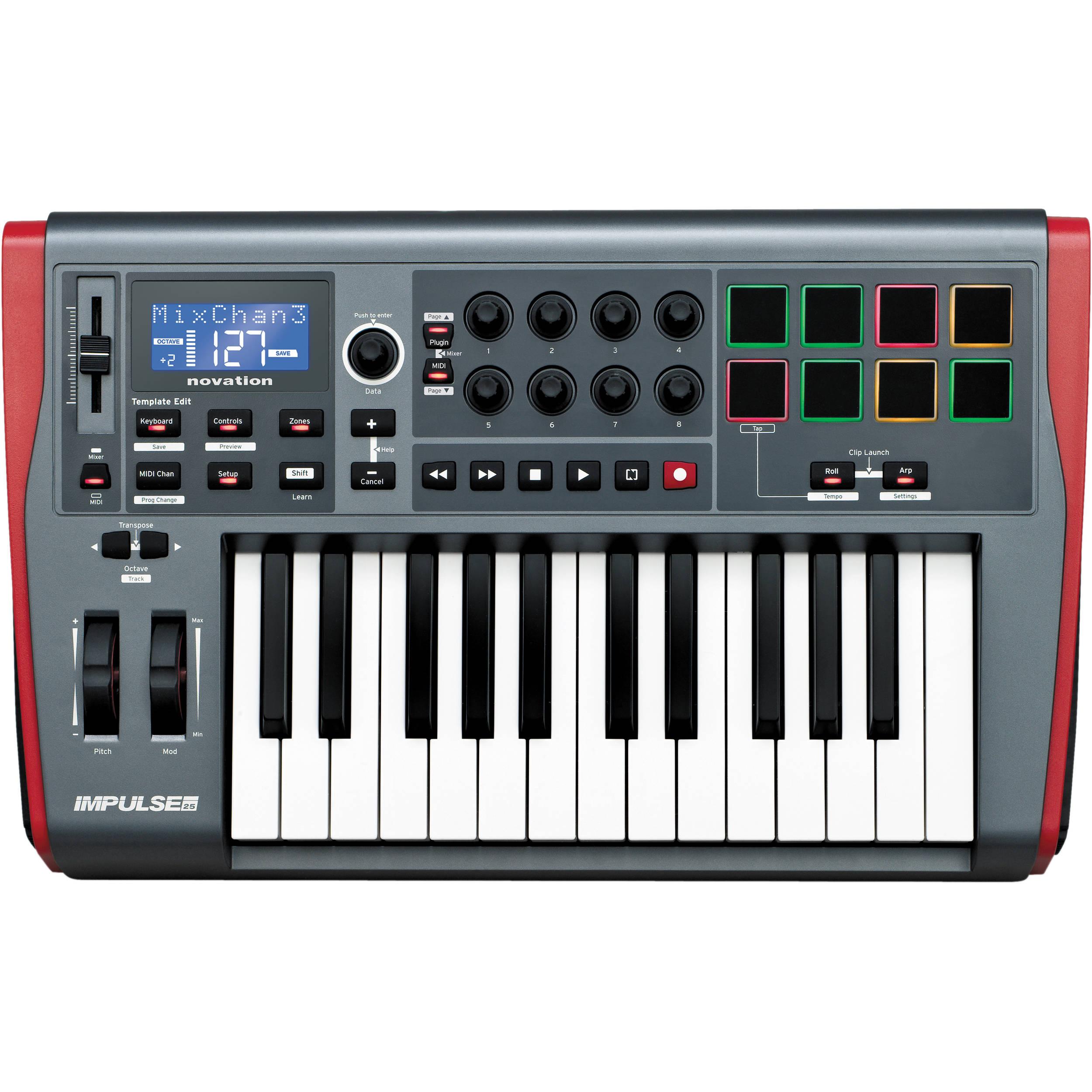 galaxy tab 2 midi keyboard
