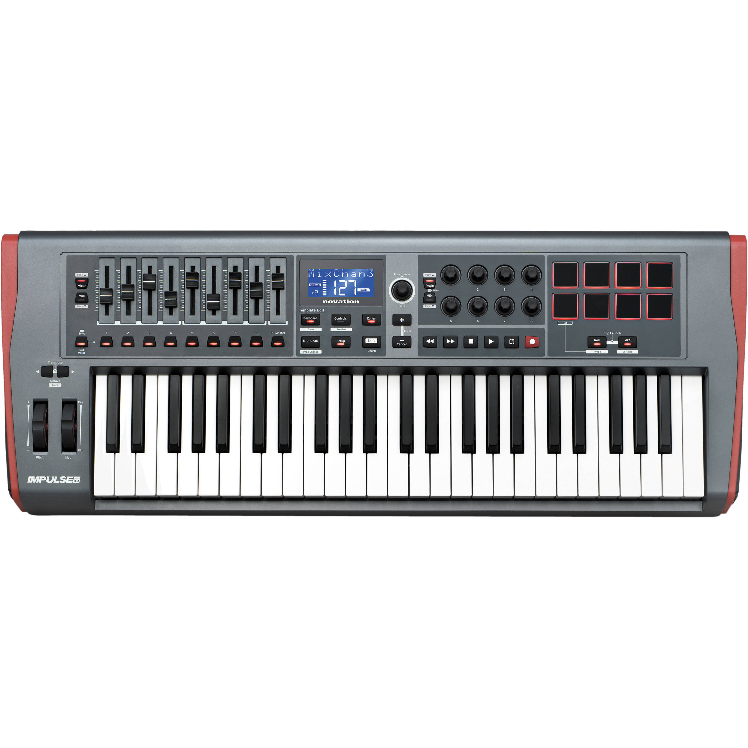 novation launchkey 49 midi driver