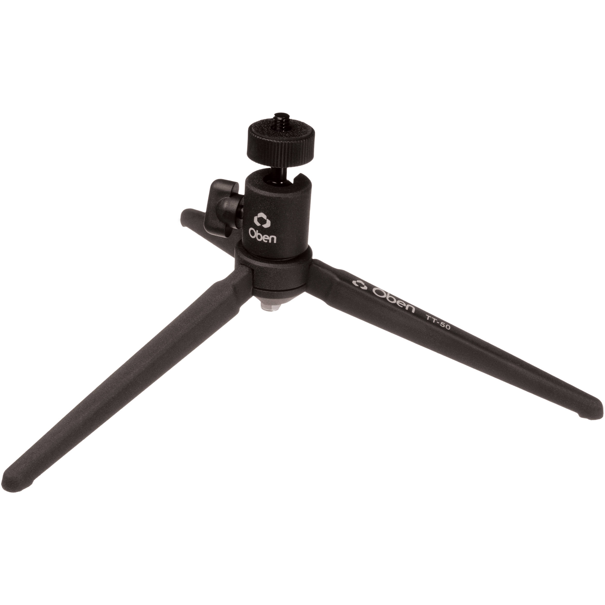 oben tt 50 tabletop tripod tt 50 b h photo video. Black Bedroom Furniture Sets. Home Design Ideas