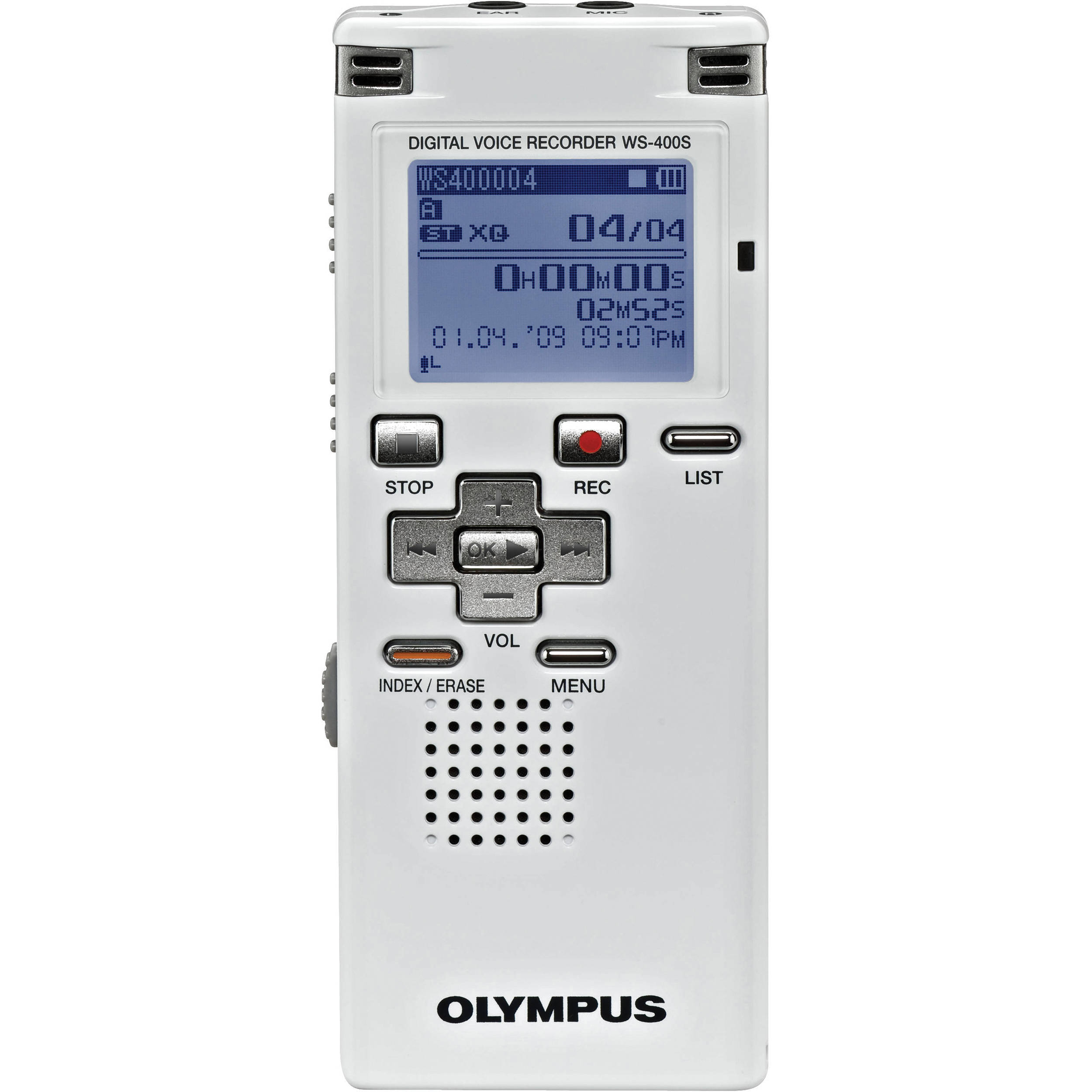 olympus ws 400s dns digital voice recorder kit 142036 b h photo rh bhphotovideo com olympus digital voice recorder ws-400s manual