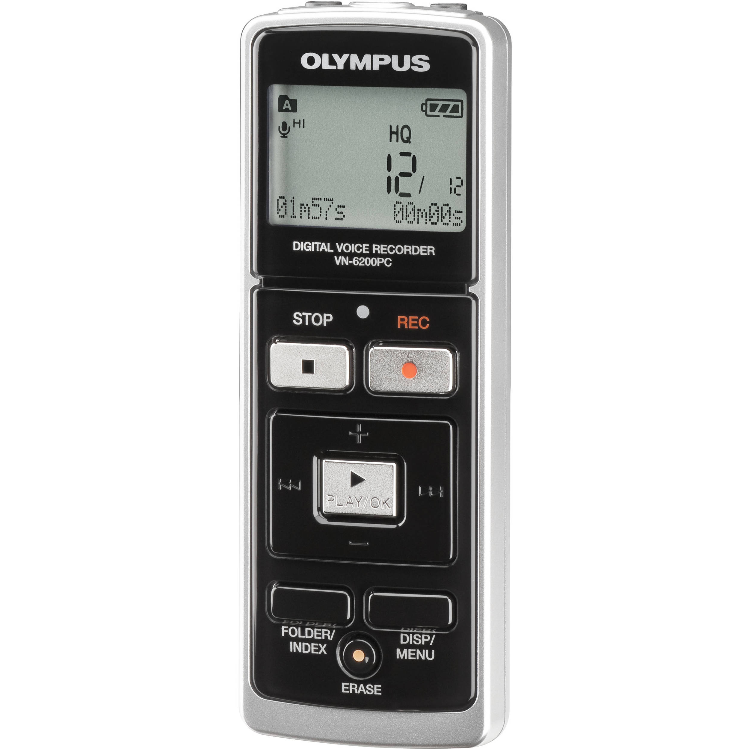 olympus vn 6200pc digital voice recorder 1gb 142070 b h photo rh bhphotovideo com Olympus Voice Recorder VN- 7200 digital voice recorder vn 6200pc manual