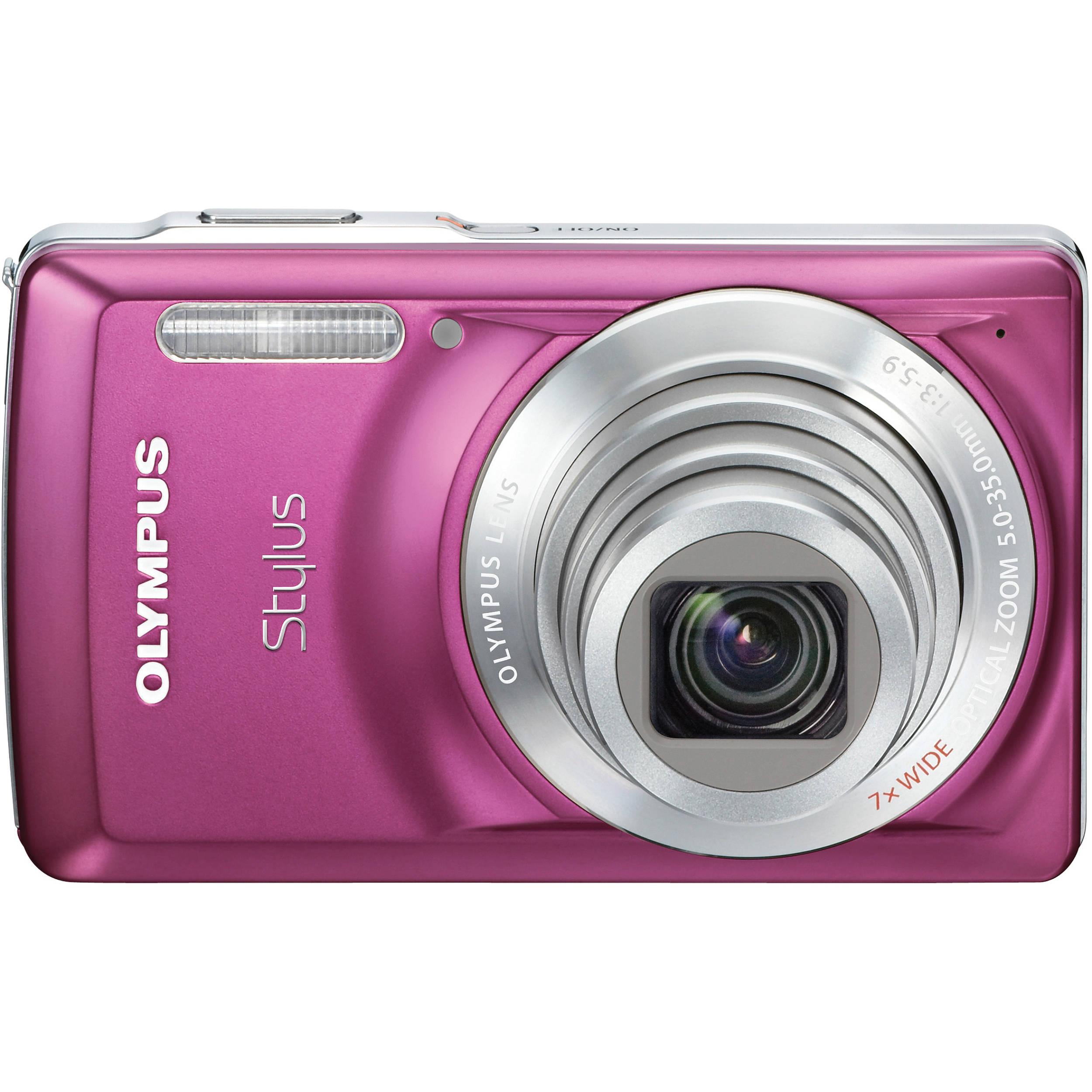 olympus stylus 7030 digital camera purple 227580 b h photo rh bhphotovideo com Olympus Stylus 35Mm Camera Olympus Stylus Zoom 140