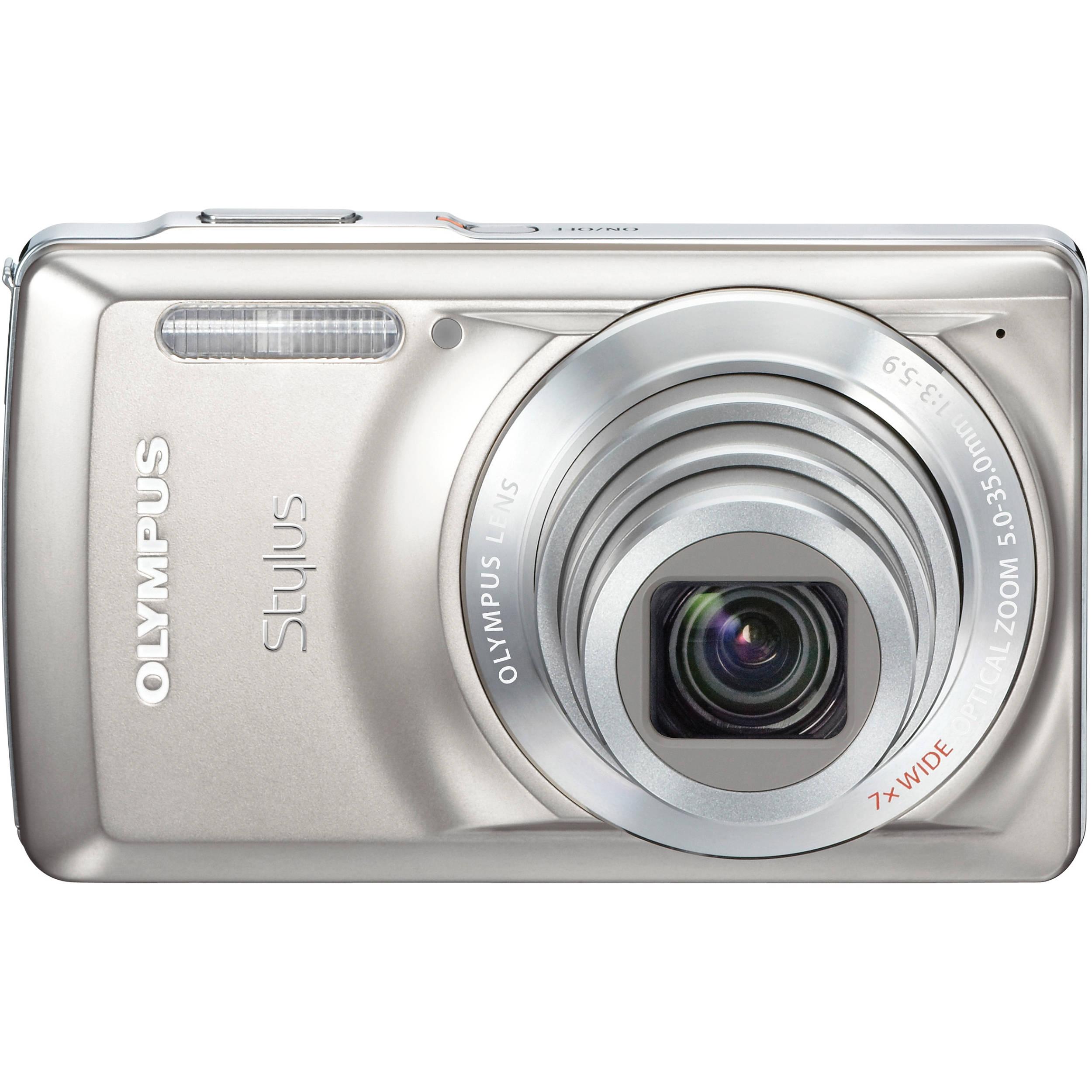 olympus stylus 7030 digital camera titanium 227585 b h photo rh bhphotovideo com Olympus Stylus Zoom 140 Olympus Stylus Film