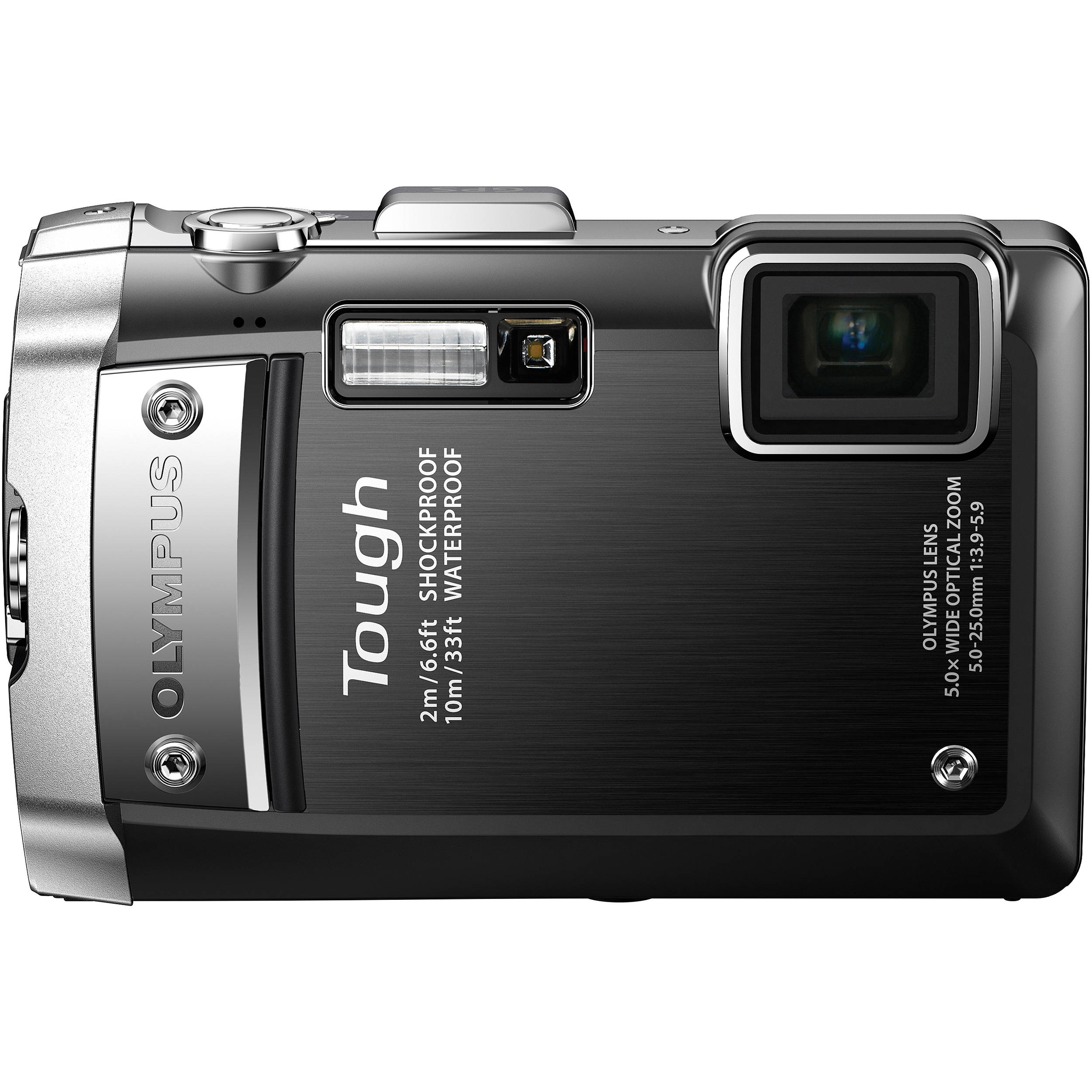 Olympus Digital Camera: Olympus Tough TG-810 Digital Camera (Black) 228100 B&H Photo