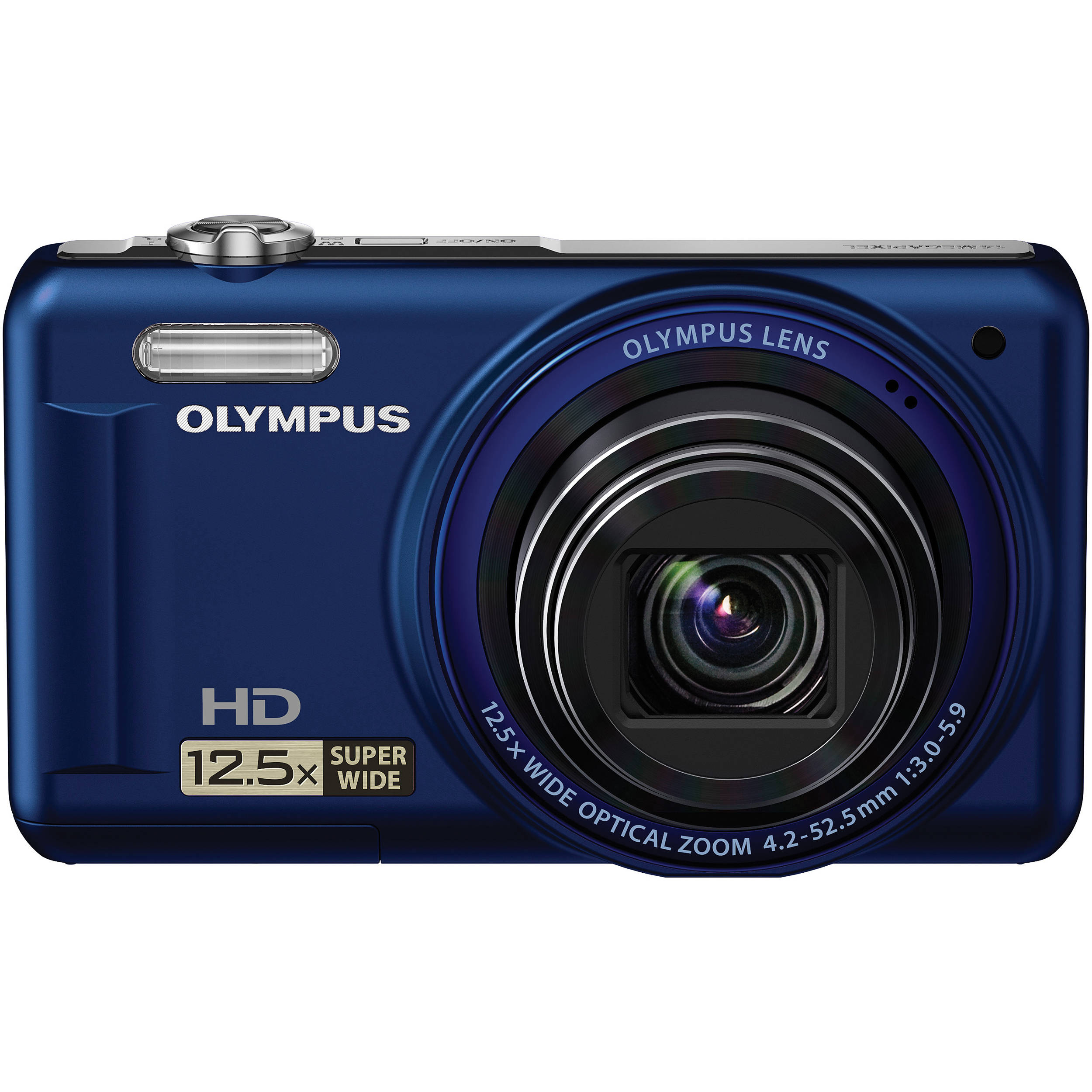 Olympus Digital Camera: Olympus VR-320 Digital Camera (Blue) 228130 B&H Photo Video