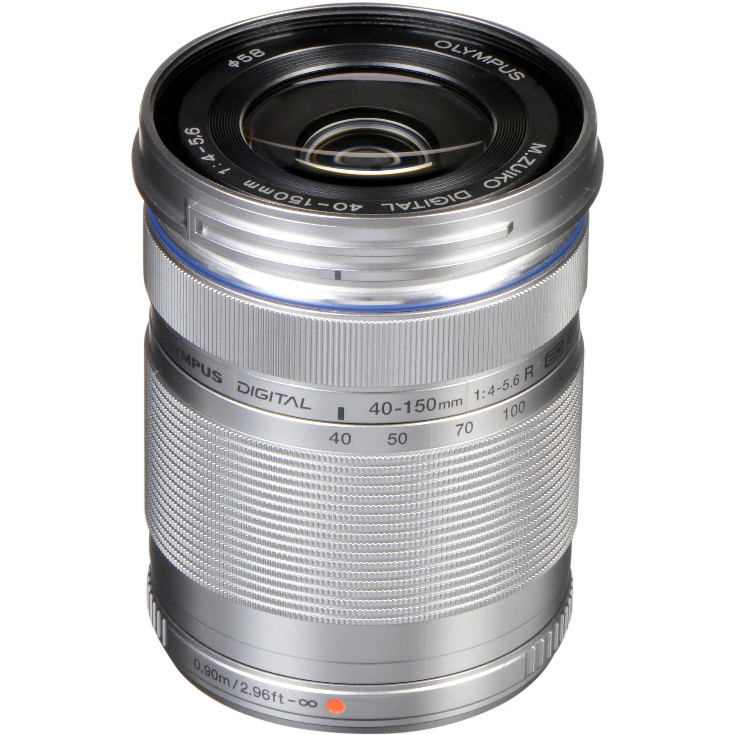 Olympus Mzuiko Digital Ed 40 150mm F 4 56 R Lens V315030su000 Om D E M10 Mark Ii Kit