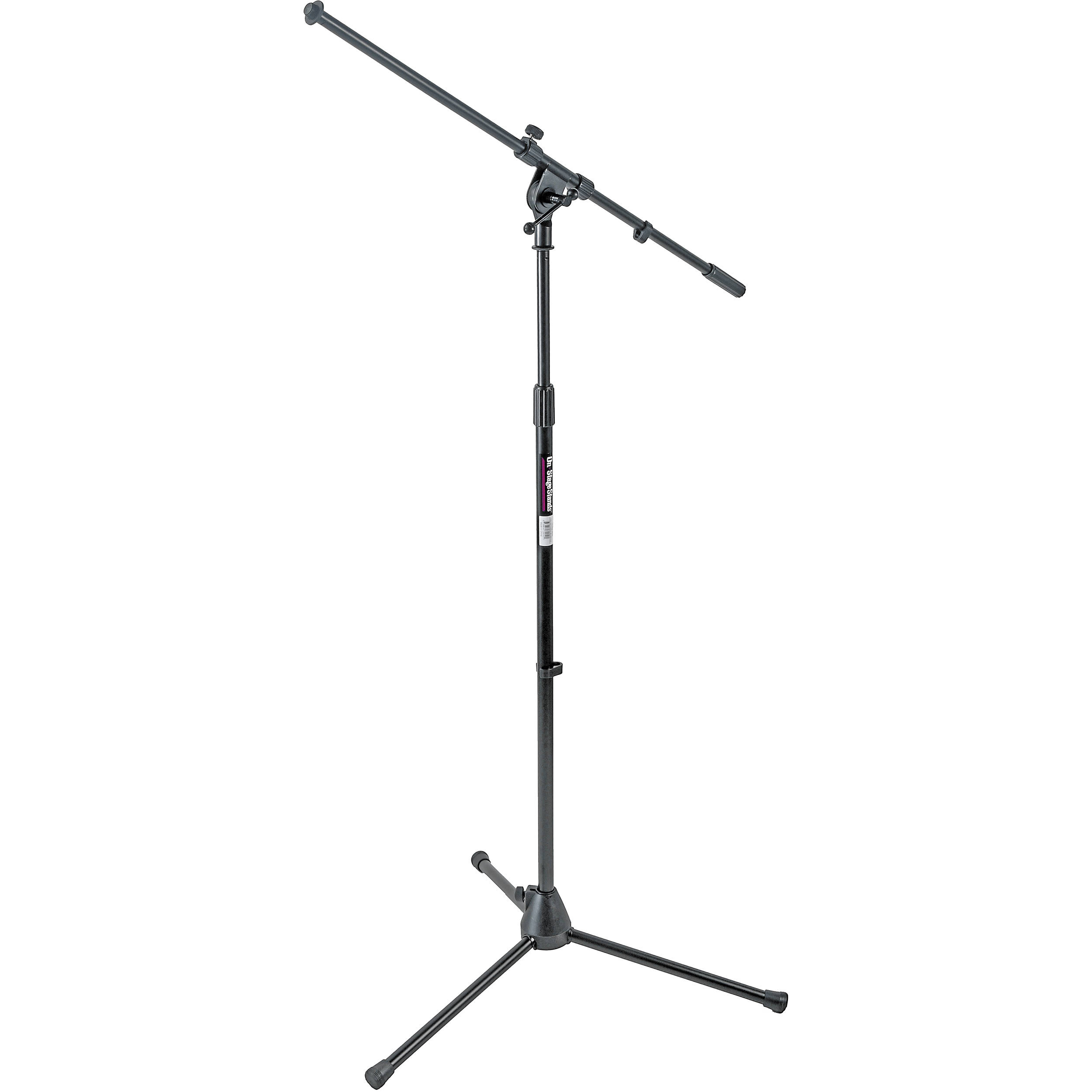 On Stage MS7701B Euro Boom Mic Stand Black BampH Photo