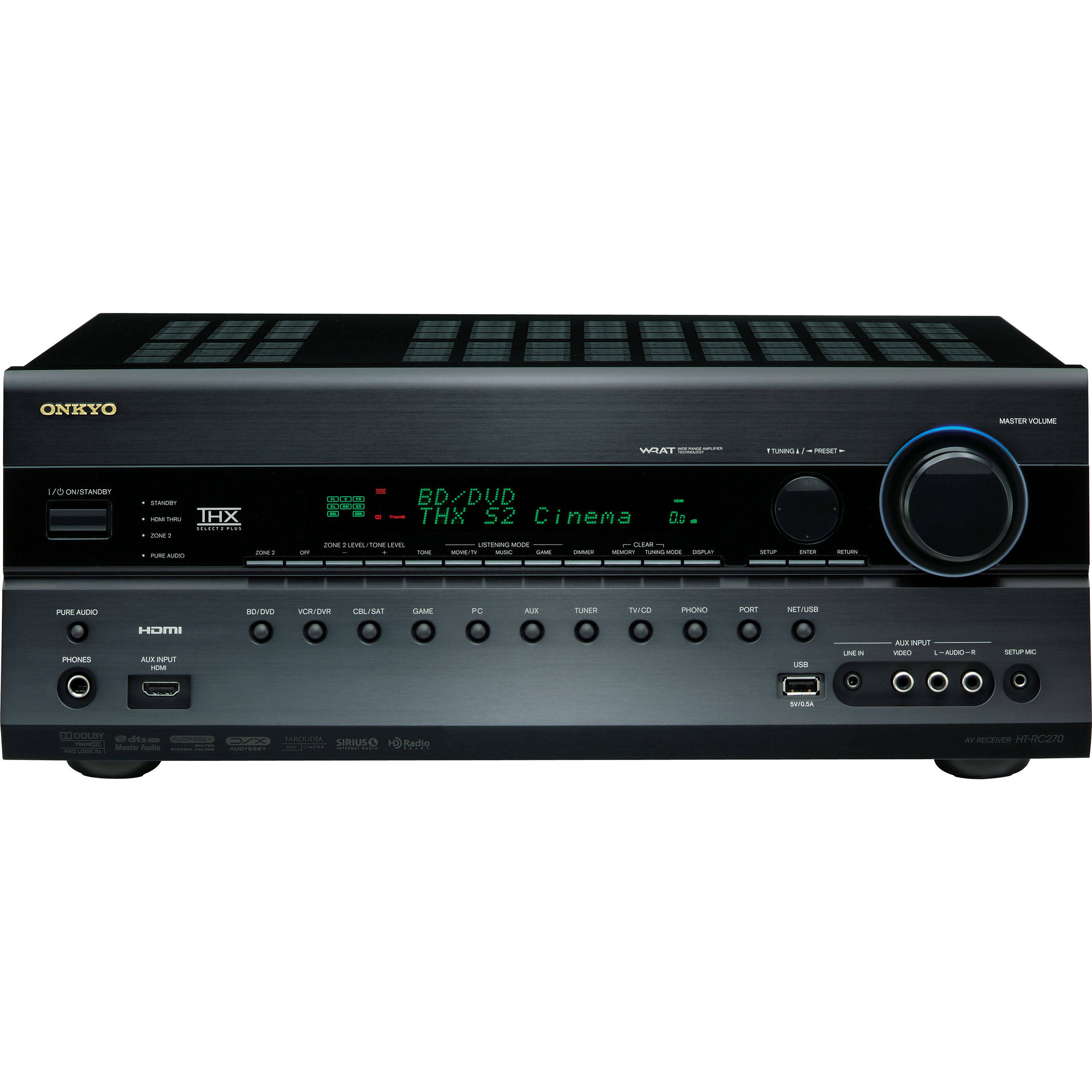 Home Theater Receiver : Onkyo ht rc av home theater receiver b h photo