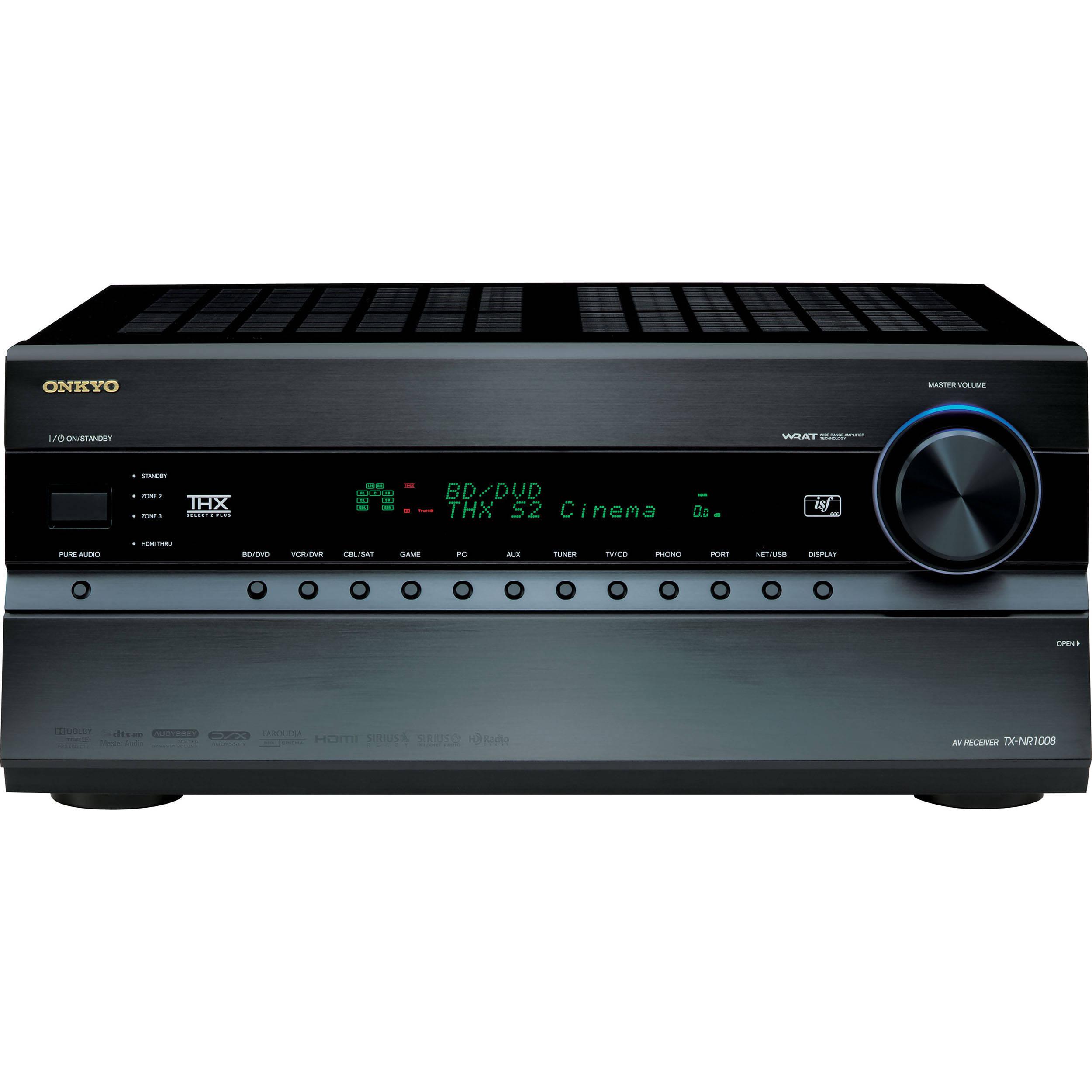 Test Report: Onkyo TX-NR1008 A/V Receiver   Sound & Vision