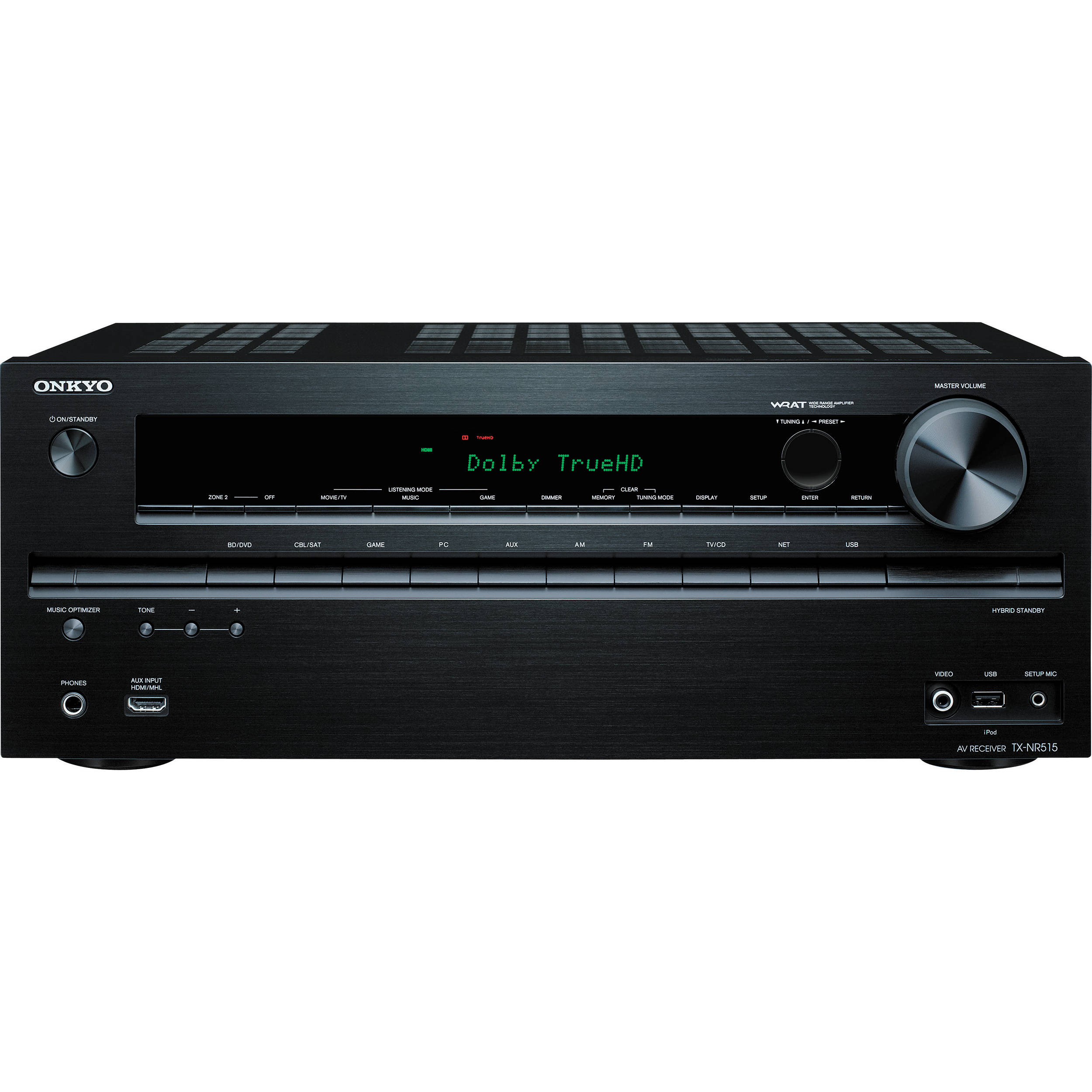 Onkyo TXNR AV Home Theater Receiver TXNR BH Photo - Small home theater receiver