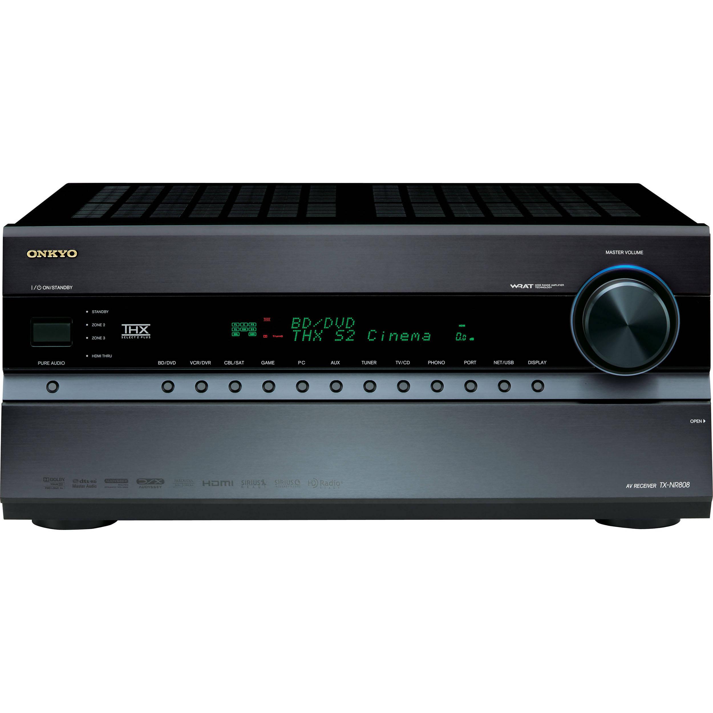 Onkyo TX-NR808 Network A/V Receiver Treiber Herunterladen
