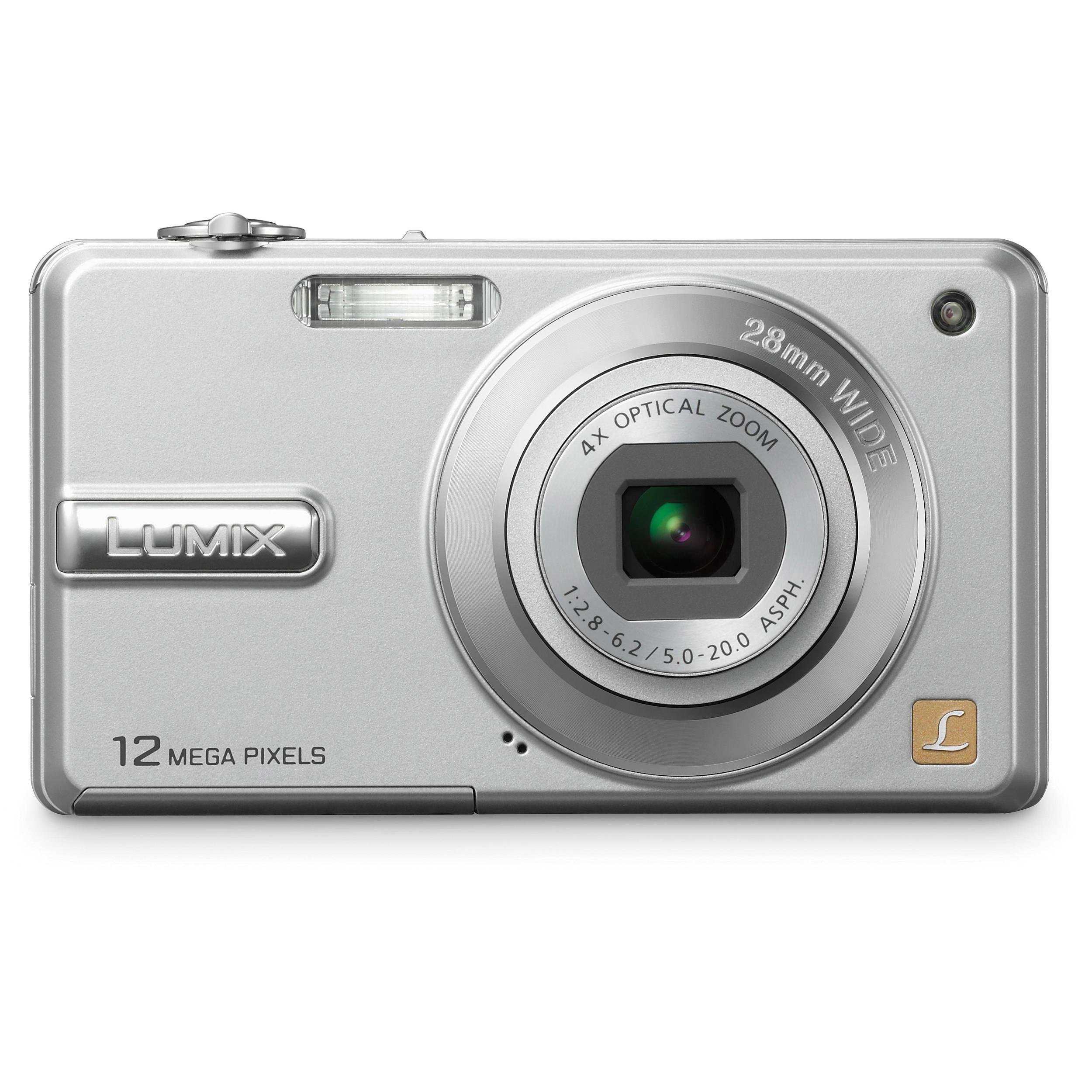 panasonic lumix dmc f3 digital camera silver dmc f3s b h photo rh bhphotovideo com Panasonic TV Manual Panasonic Cordless Phones
