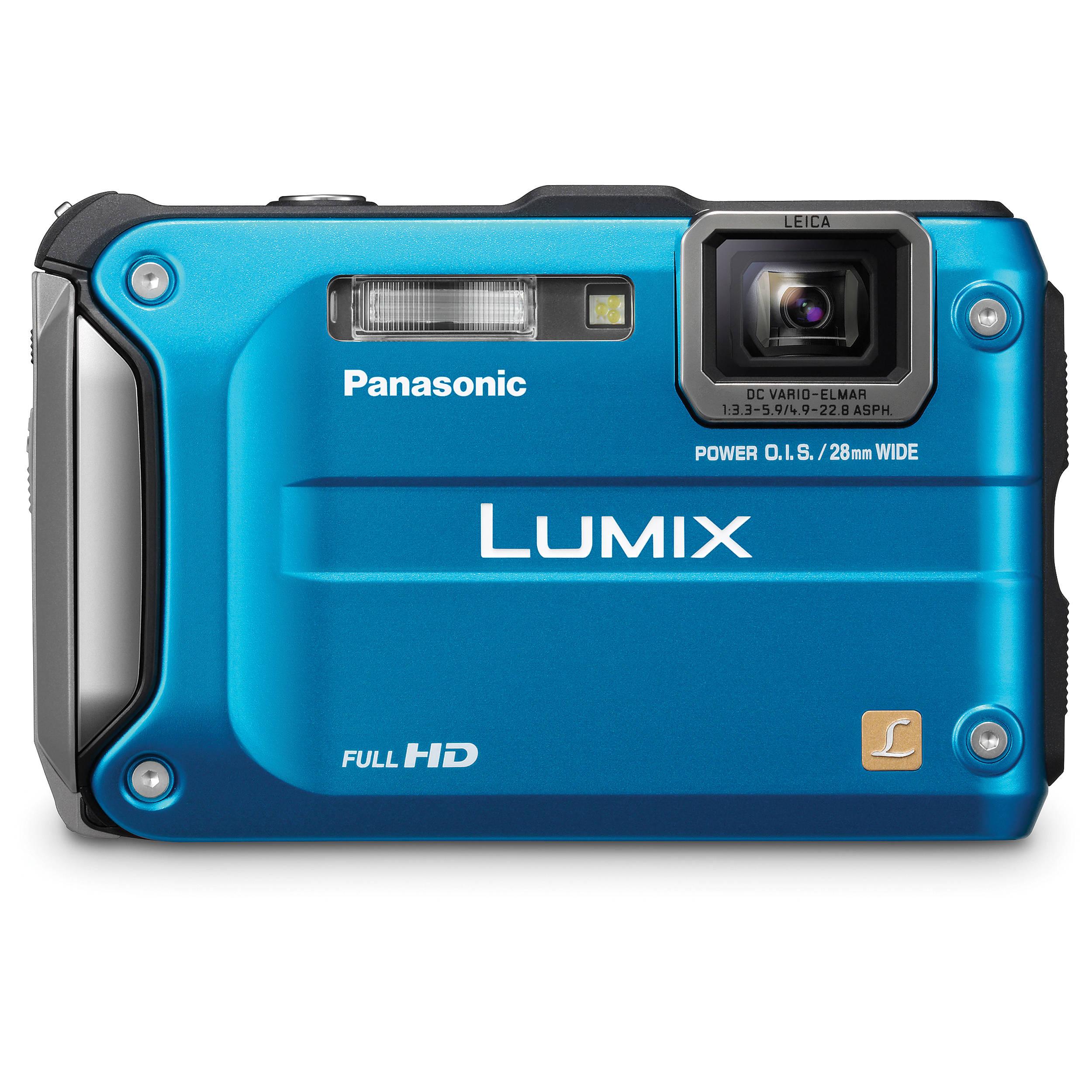 panasonic lumix dmc ts3 digital camera blue dmc ts3a b h photo rh bhphotovideo com panasonic dmc-ts3 manual panasonic ts3 manual