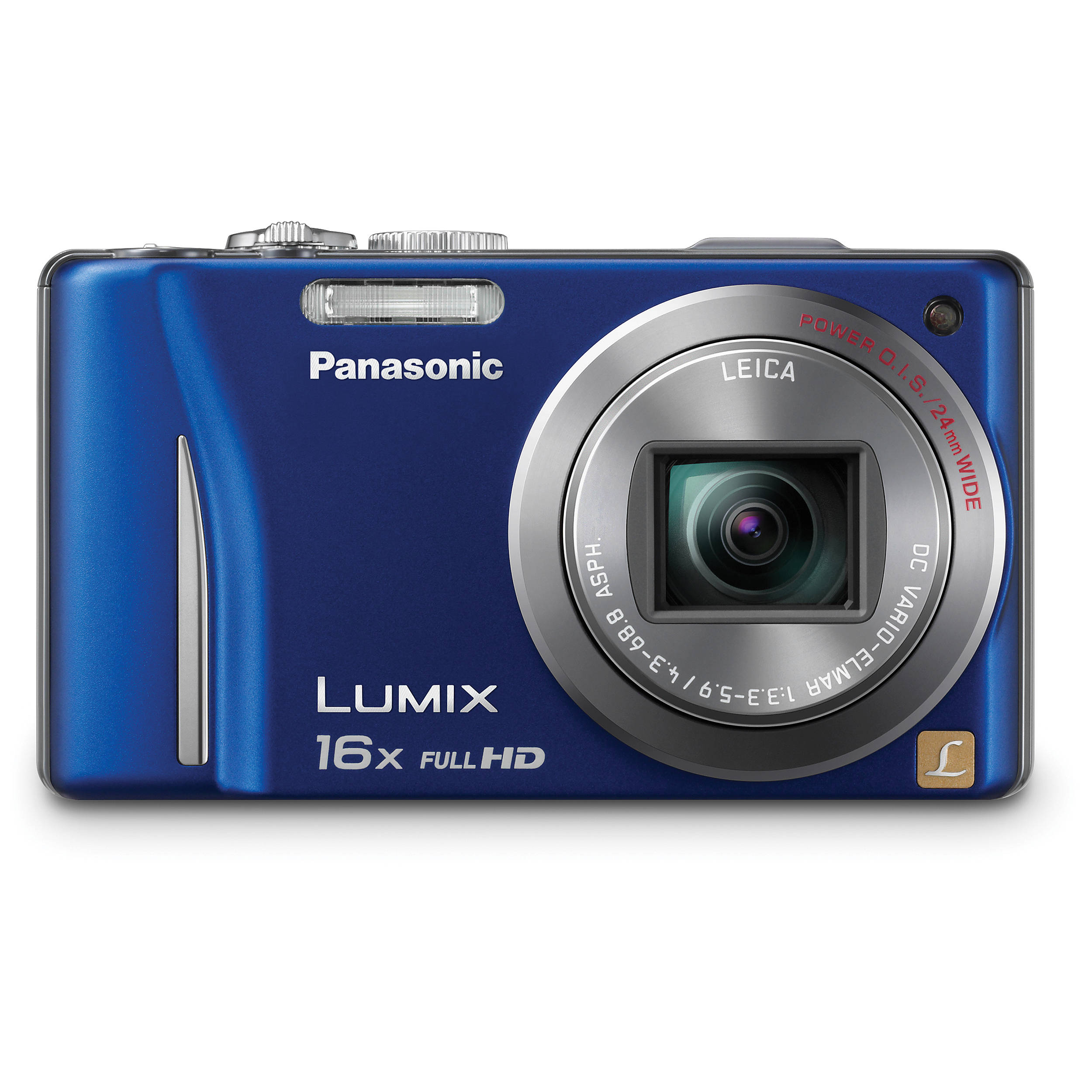 panasonic lumix dmc zs10 digital camera blue dmc zs10a b h rh bhphotovideo com panasonic lumix dmc zs10 manual español Panasonic Lumix 16X
