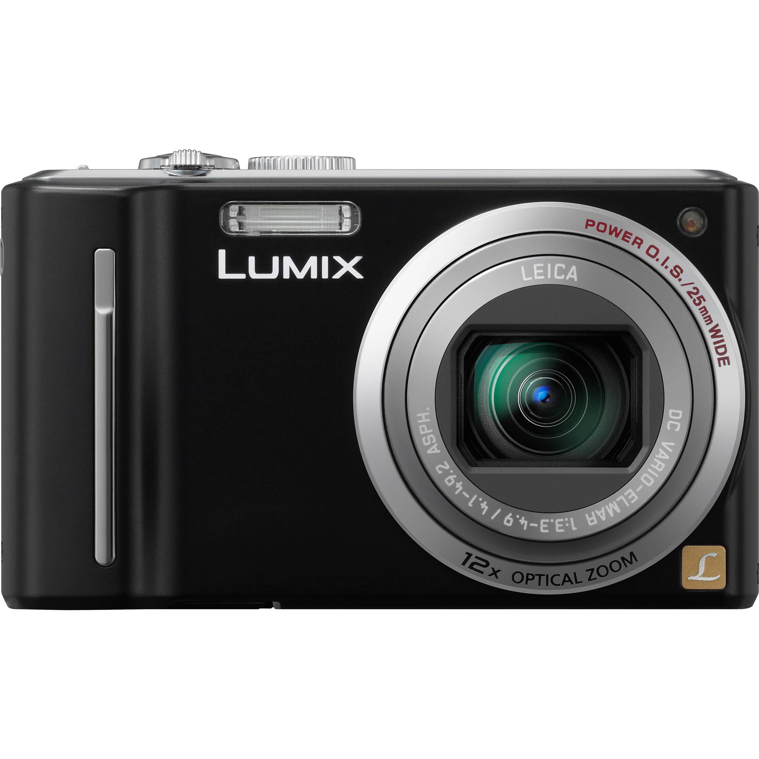 panasonic lumix dmc zs5 digital camera black dmc zs5k b h rh bhphotovideo com Panasonic Lumix DMC FZ30 Software panasonic lumix dmc-tz9 user manual