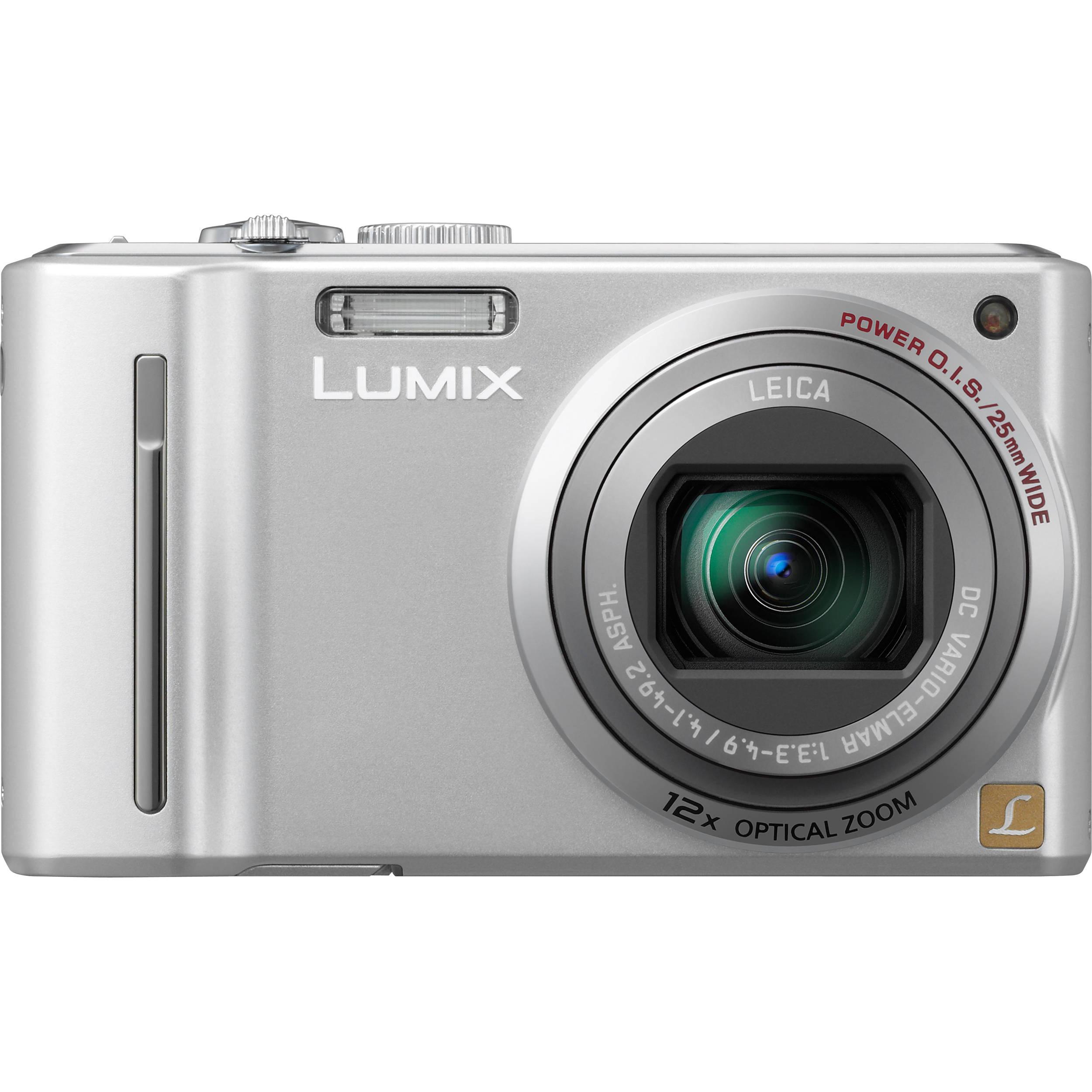 panasonic lumix dmc zs5 digital camera silver dmc zs5s b h rh bhphotovideo com 24X Panasonic Lumix DMC Panasonic Lumix DMC Camera