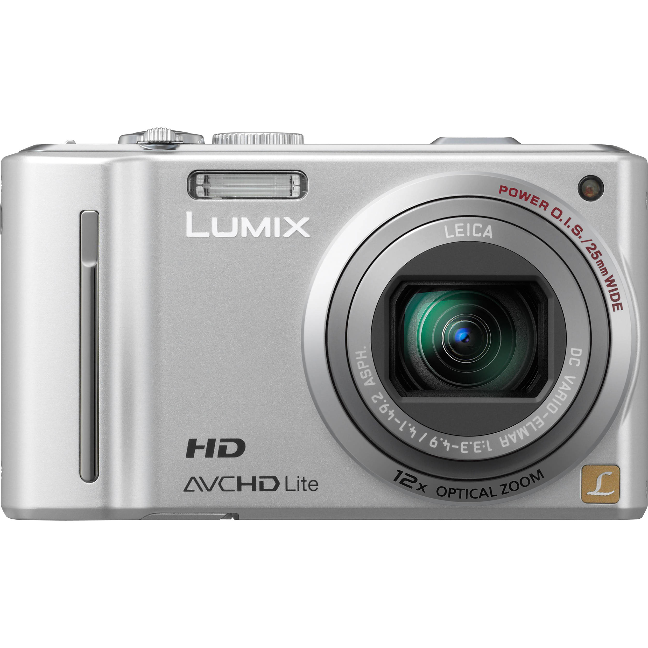 Panasonic LUMIX DMC-ZS7 (Silver) Digital Camera DMC-ZS7S B&H