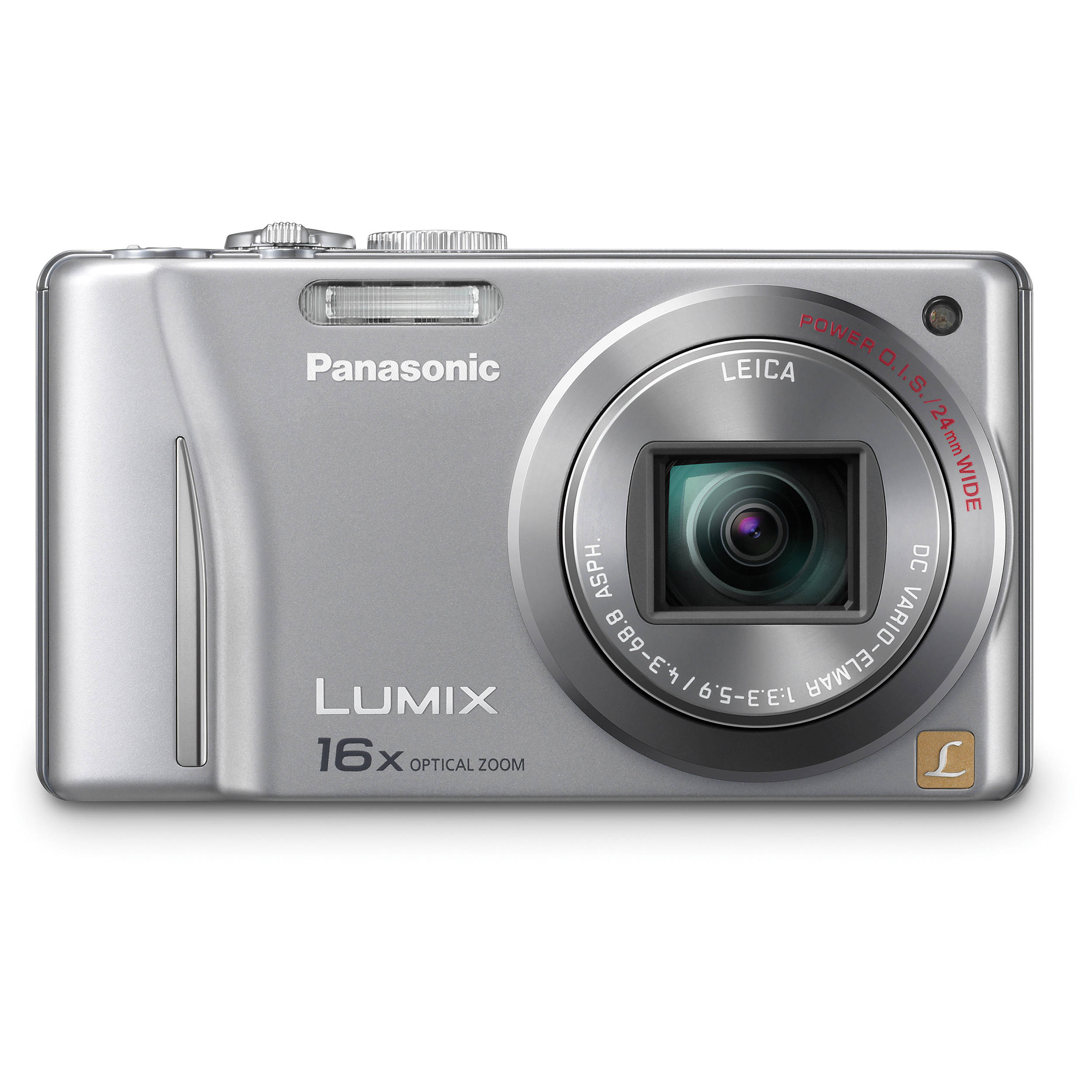 panasonic lumix dmc zs8 digital camera silver dmc zs8s b h rh bhphotovideo com  manual de camara panasonic lumix dmc-fz28