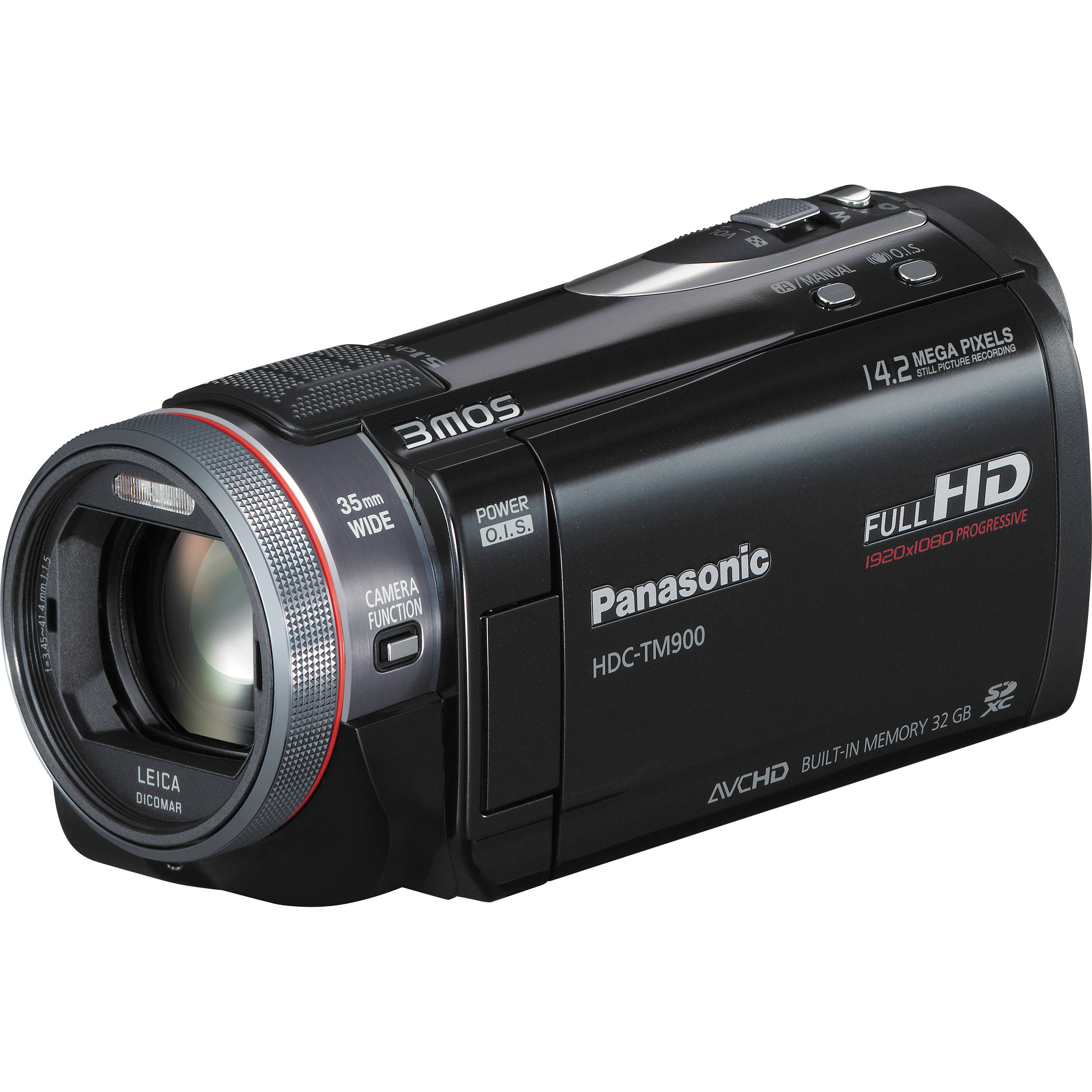 panasonic hdc tm900 high definition pal camcorder hdctm900e b h rh bhphotovideo com Panasonic HDC TM900 Manual Panasonic HDC SD800