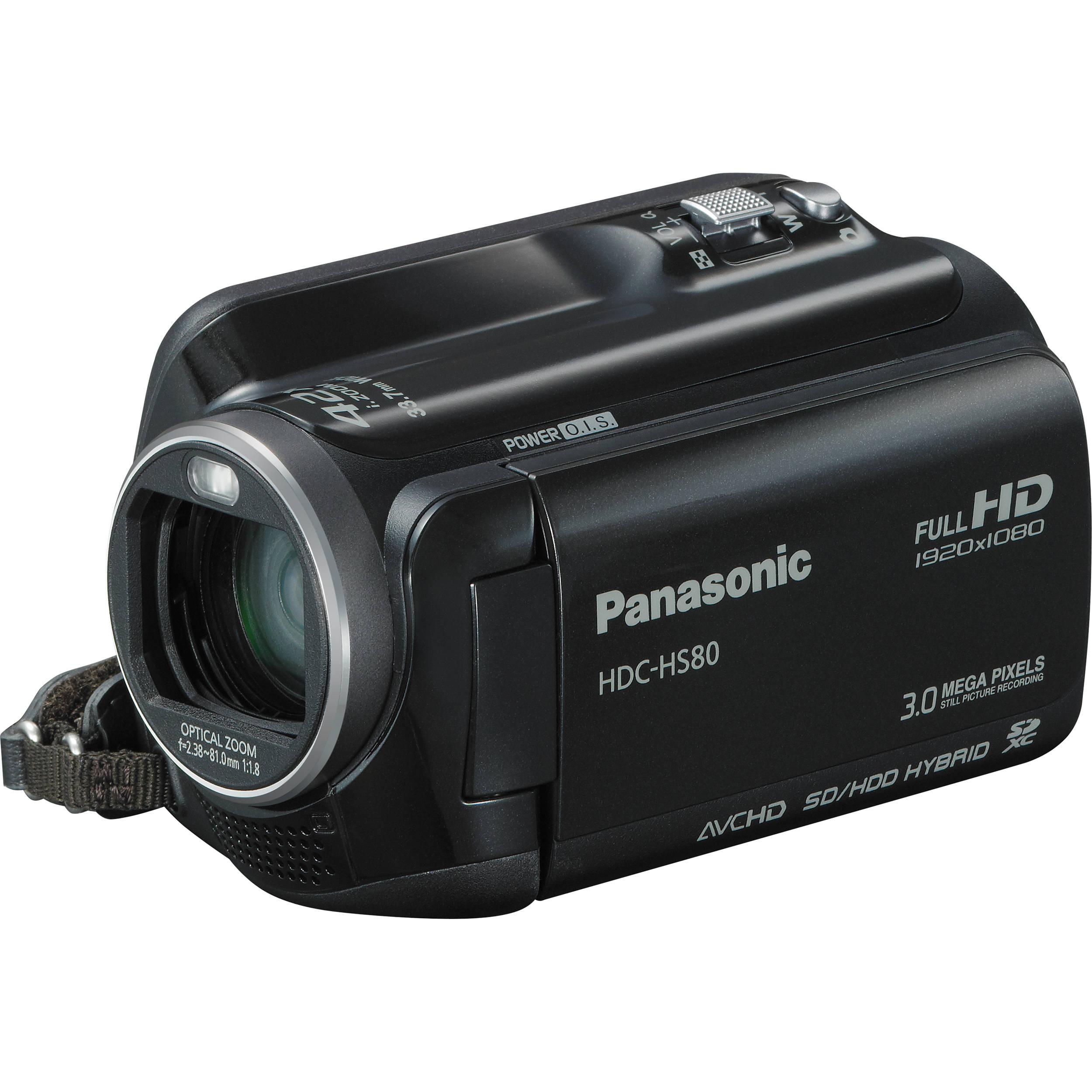 panasonic hdc hs80 camcorder hdc hs80k b h photo video rh bhphotovideo com Panasonic.comsupportbycncompass Panasonic Owner's Manual
