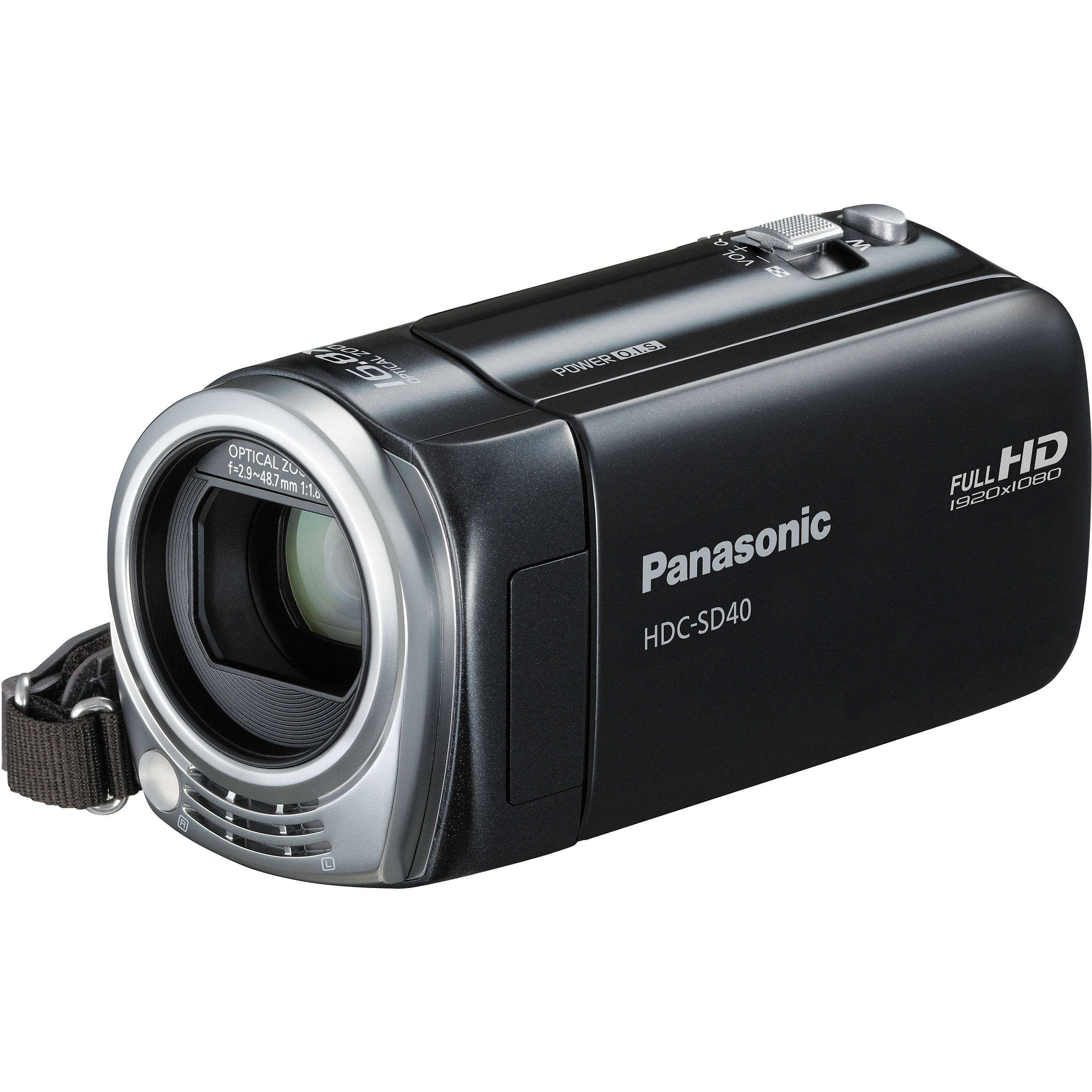 Panasonic HDC-SD40 High Definition Camcorder (Black) HDC-SD40K
