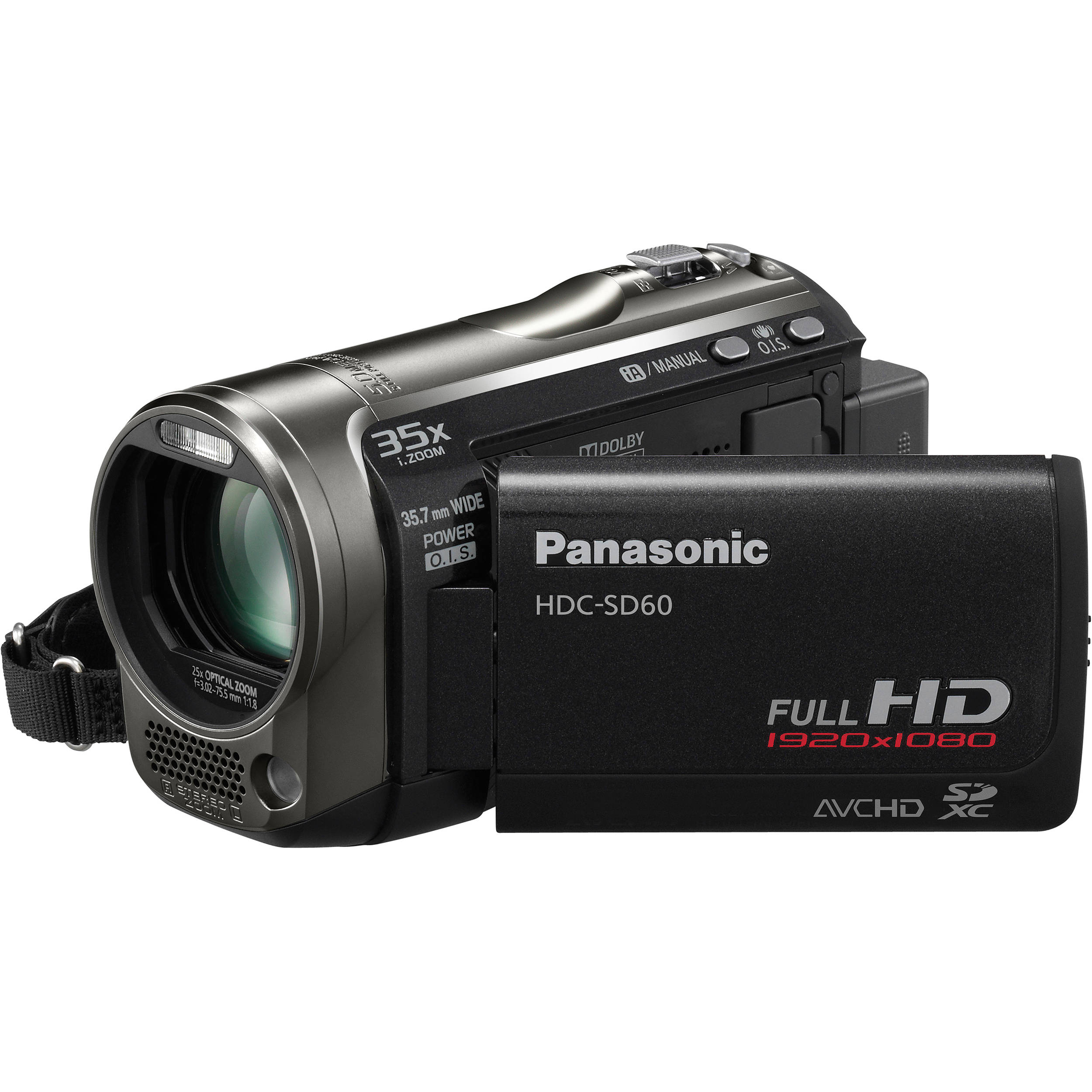 panasonic hdc sd60 high definition camcorder black hdc sd60k rh bhphotovideo com panasonic 3ccd video camera manual panasonic m7 vhs video camera manual