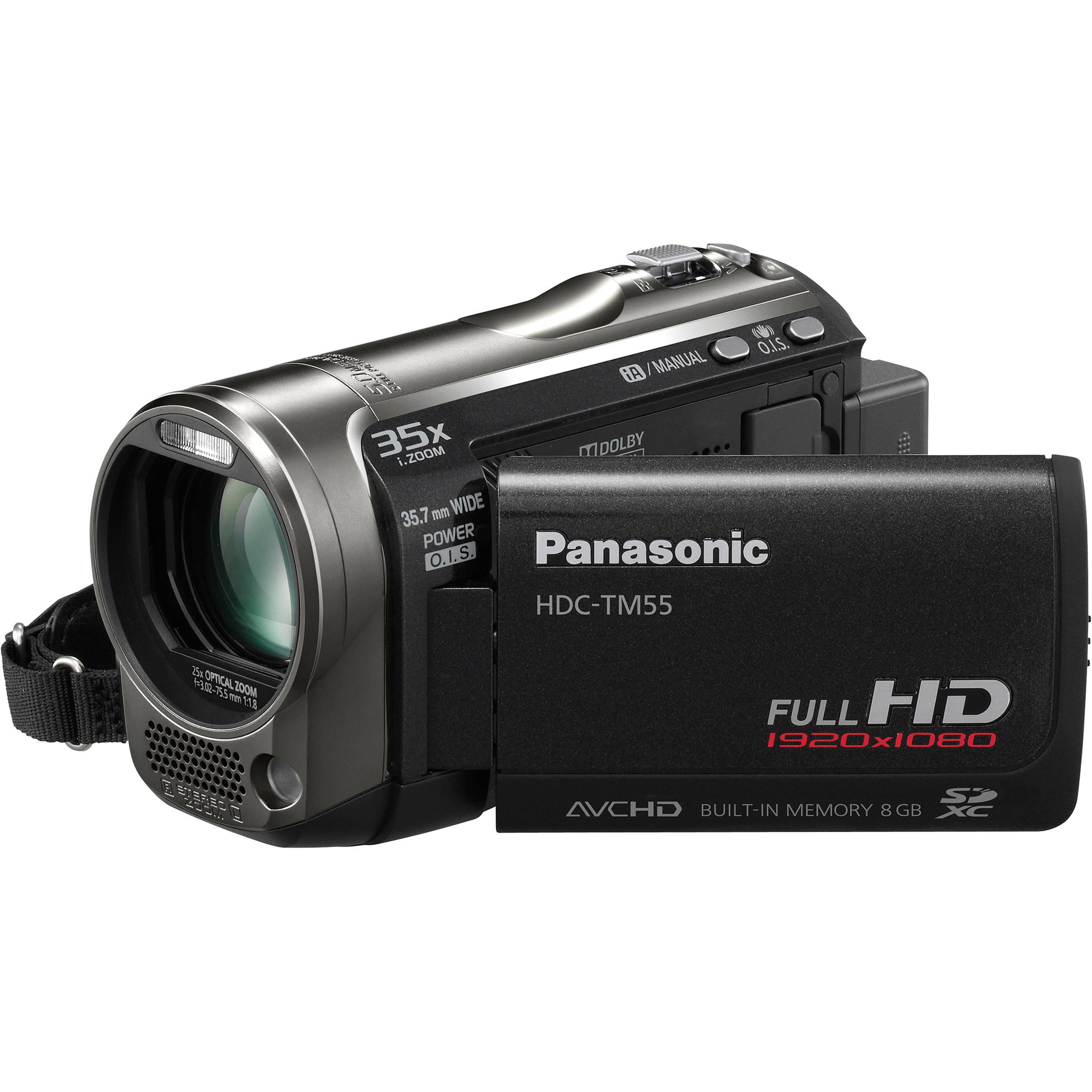 panasonic hdc tm55k high definition camcorder hdc tm55k b h rh bhphotovideo com Panasonic.comsupportbycncompass Panasonic Cordless Phones