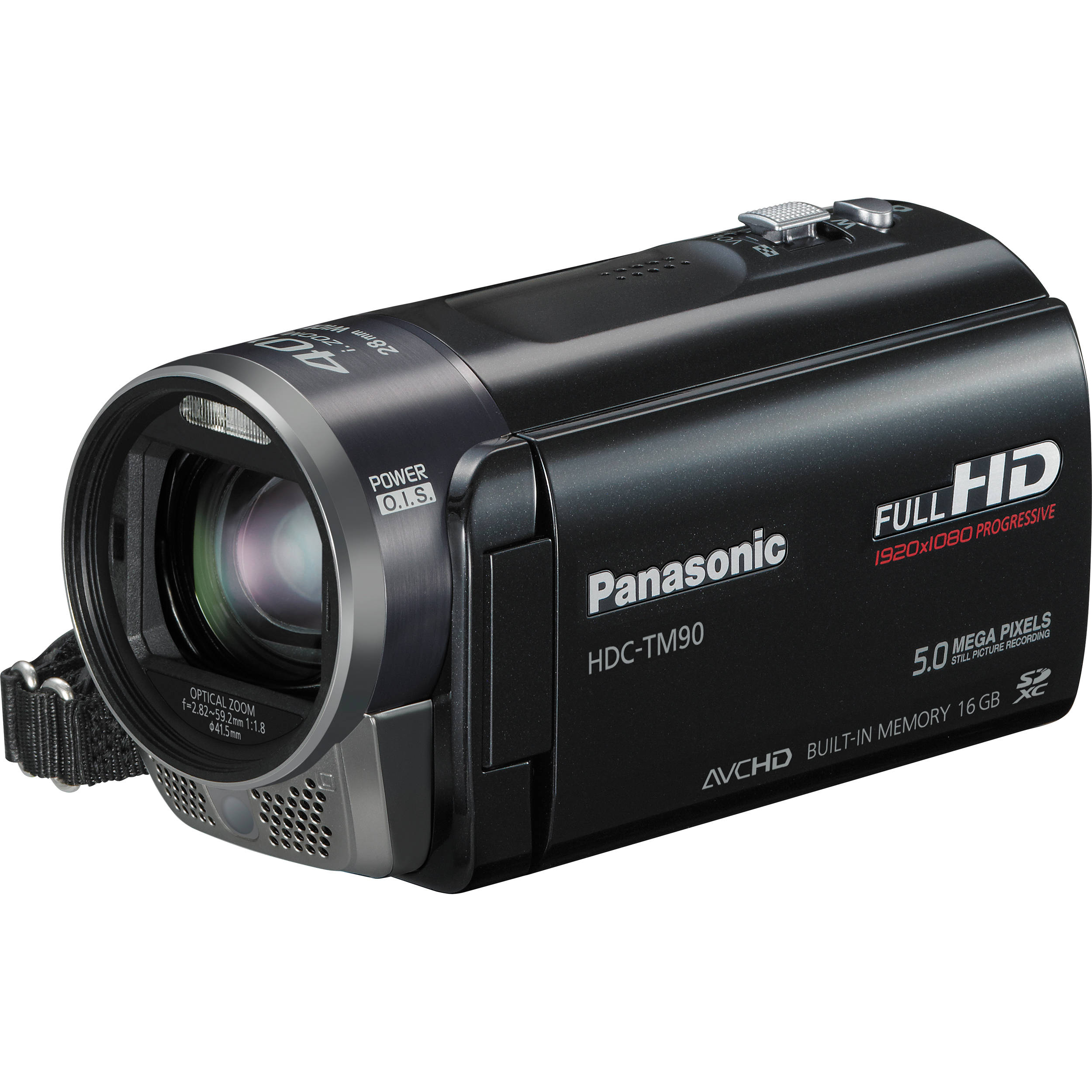 panasonic hdc tm90 high definition camcorder hdc tm90k b h photo rh bhphotovideo com Manual Panasonic Radio panasonic hdc-tm90 manual