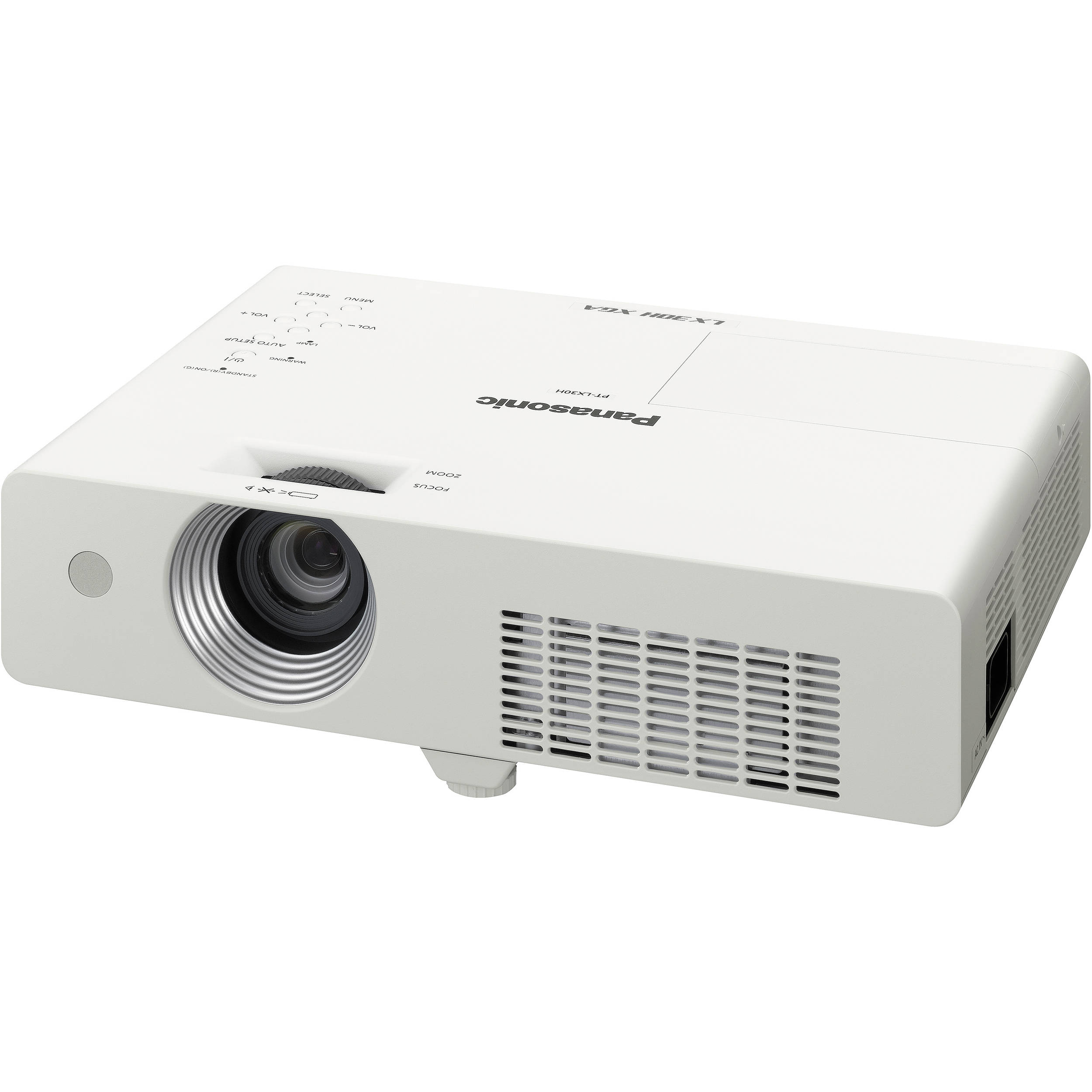 Panasonic pt lx30hu portable lcd projector pt lx30hu b h photo for Best compact projector