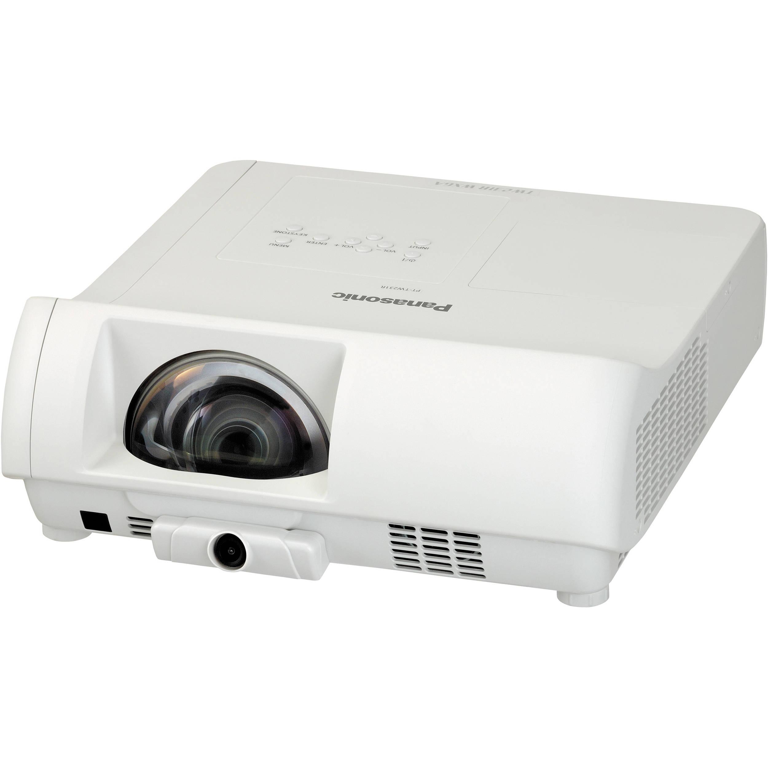 Panasonic PT-TW231RU Short Throw LCD Projector PT-TW231RU B&H