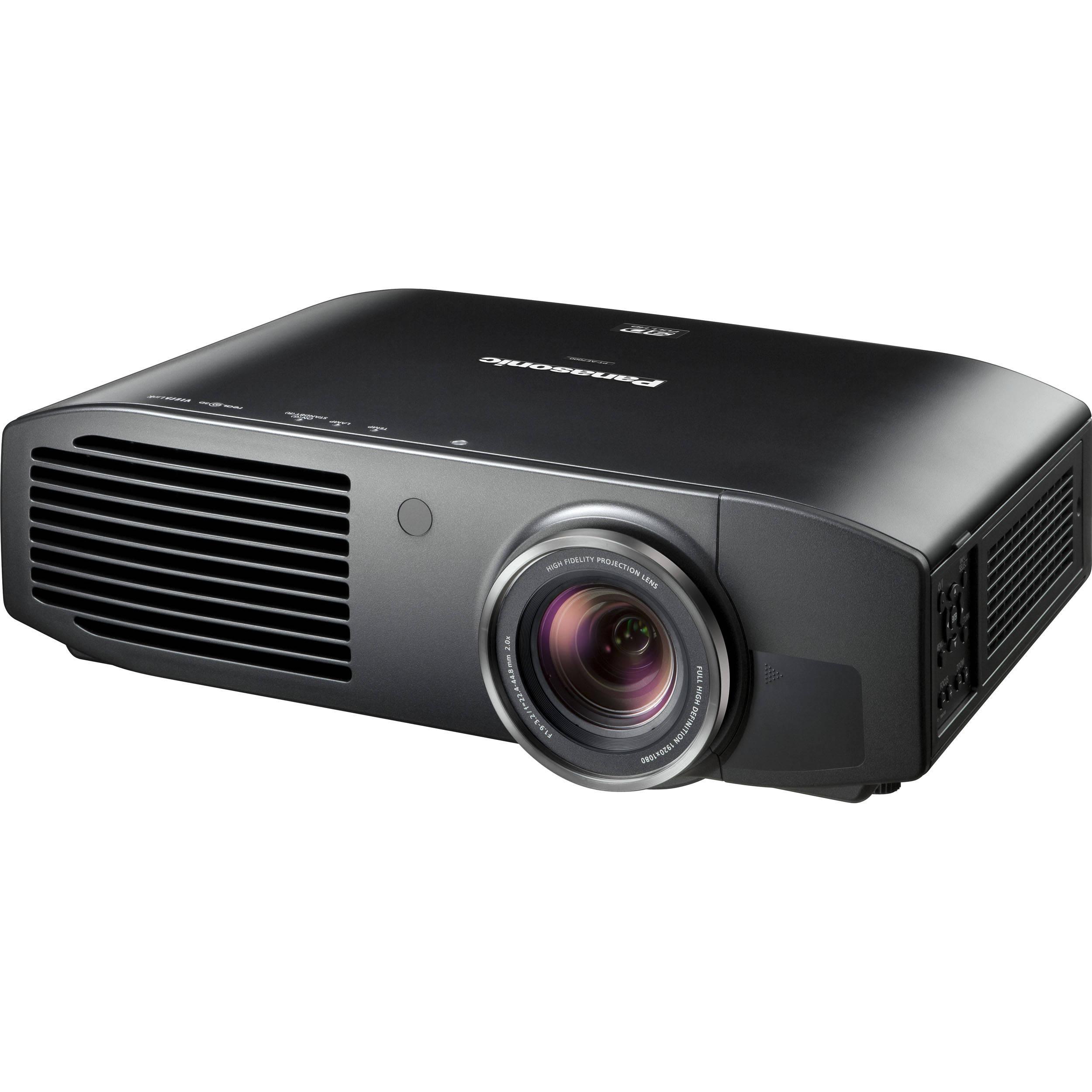 Panasonic PT-AE7000U HD 3D Home Cinema Projector PT ...