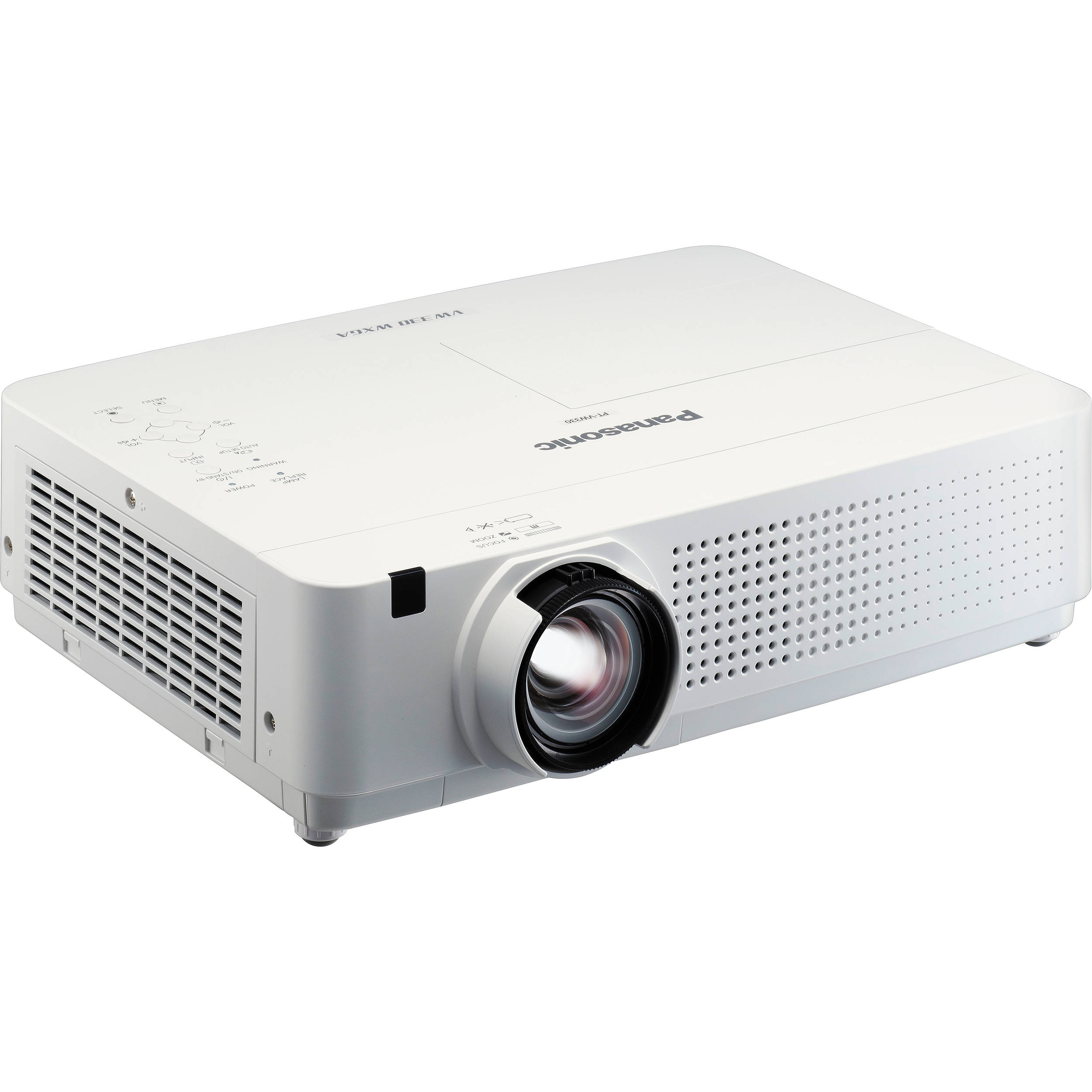 Panasonic pt vw330u portable projector pt vw330u b h photo for Portable projector reviews