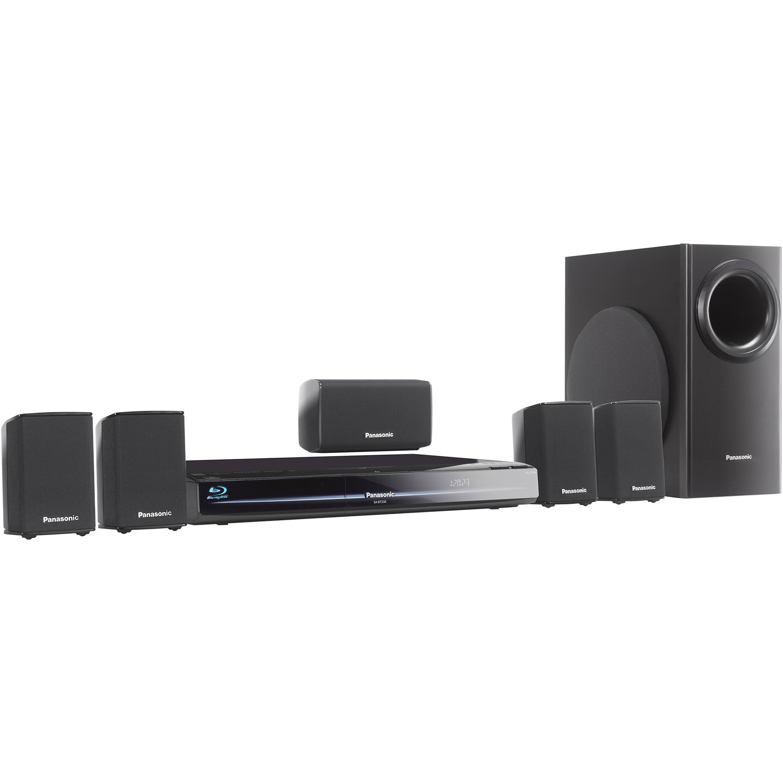 panasonic sc bt230 blu ray home theater system sc bt230 b h. Black Bedroom Furniture Sets. Home Design Ideas