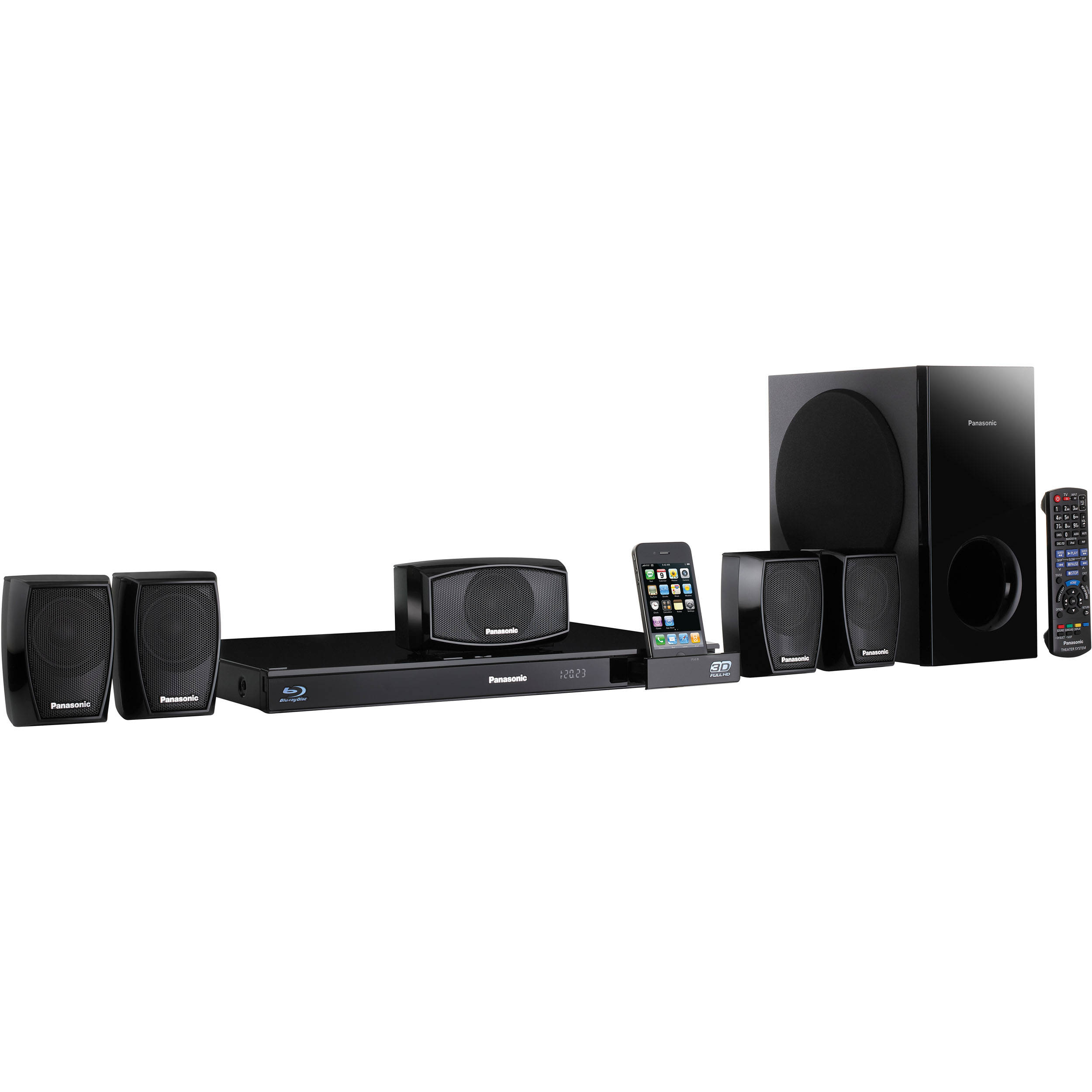 blu ray home theater system ipod ipad or iphone not included