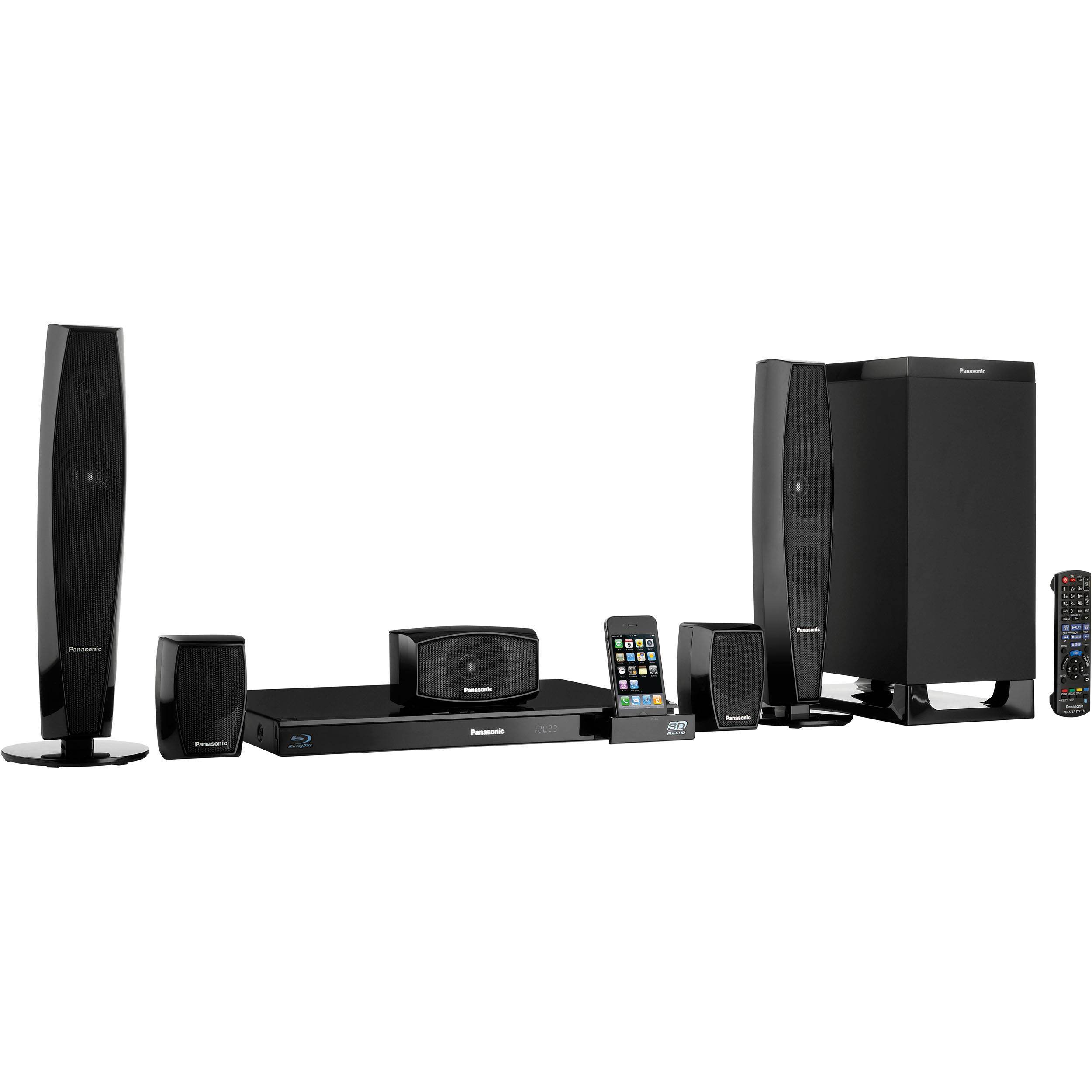 panasonic sc btt370 full hd 3d blu ray home theater sc btt370. Black Bedroom Furniture Sets. Home Design Ideas