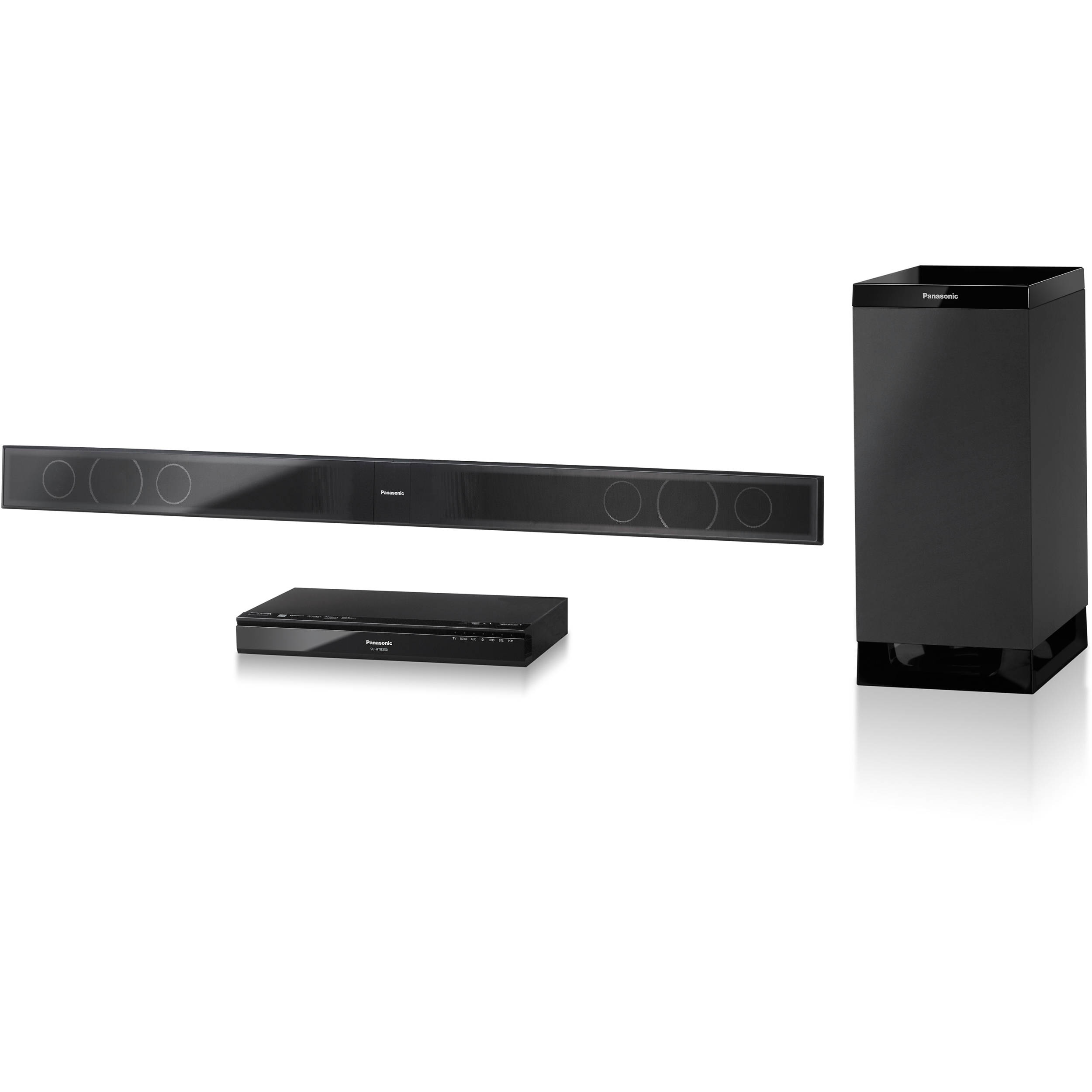 Panasonic Sc Htb350 Home Theater System Sound Bar With Subwoofer
