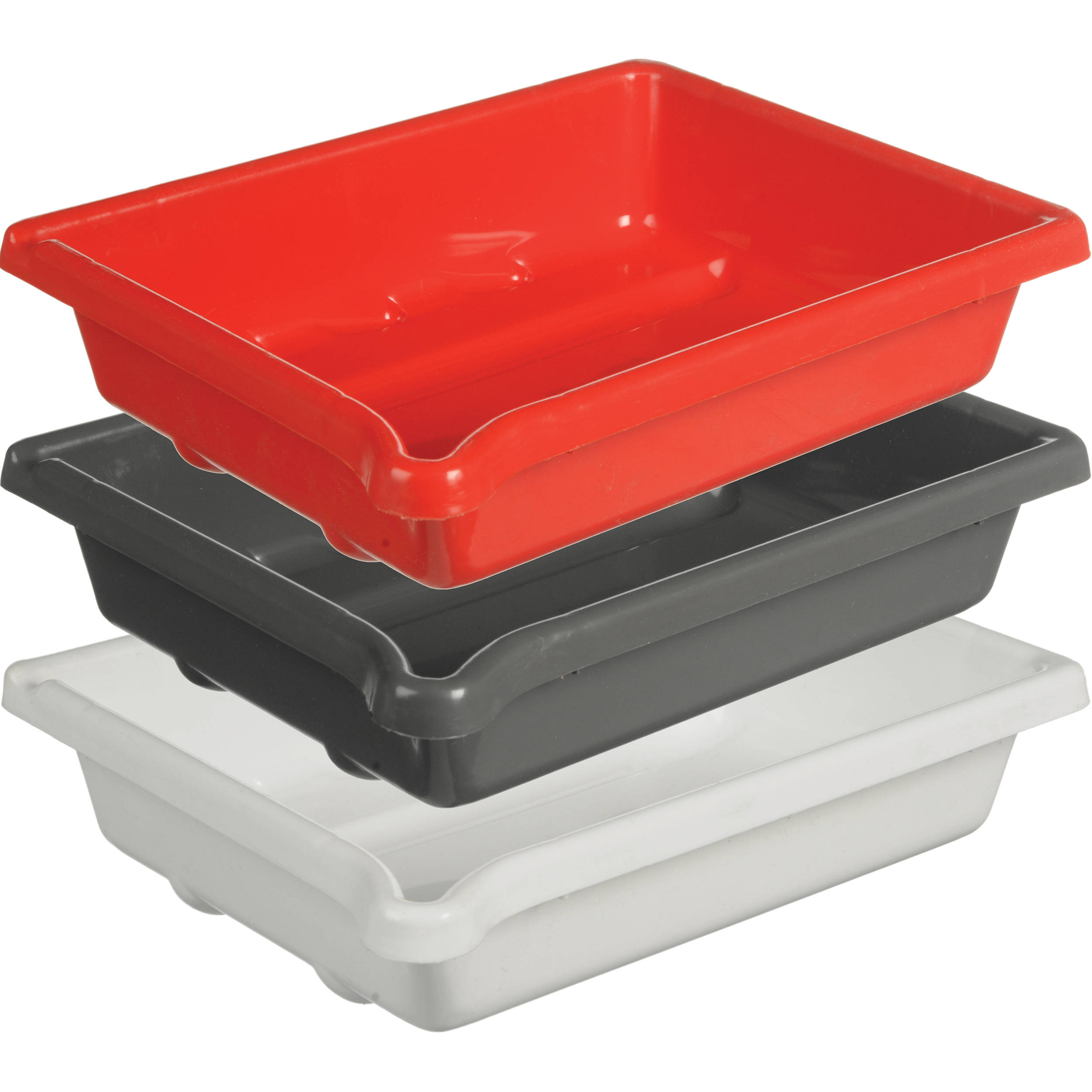 paterson plastic developing tray set 5x7 - Color Tray