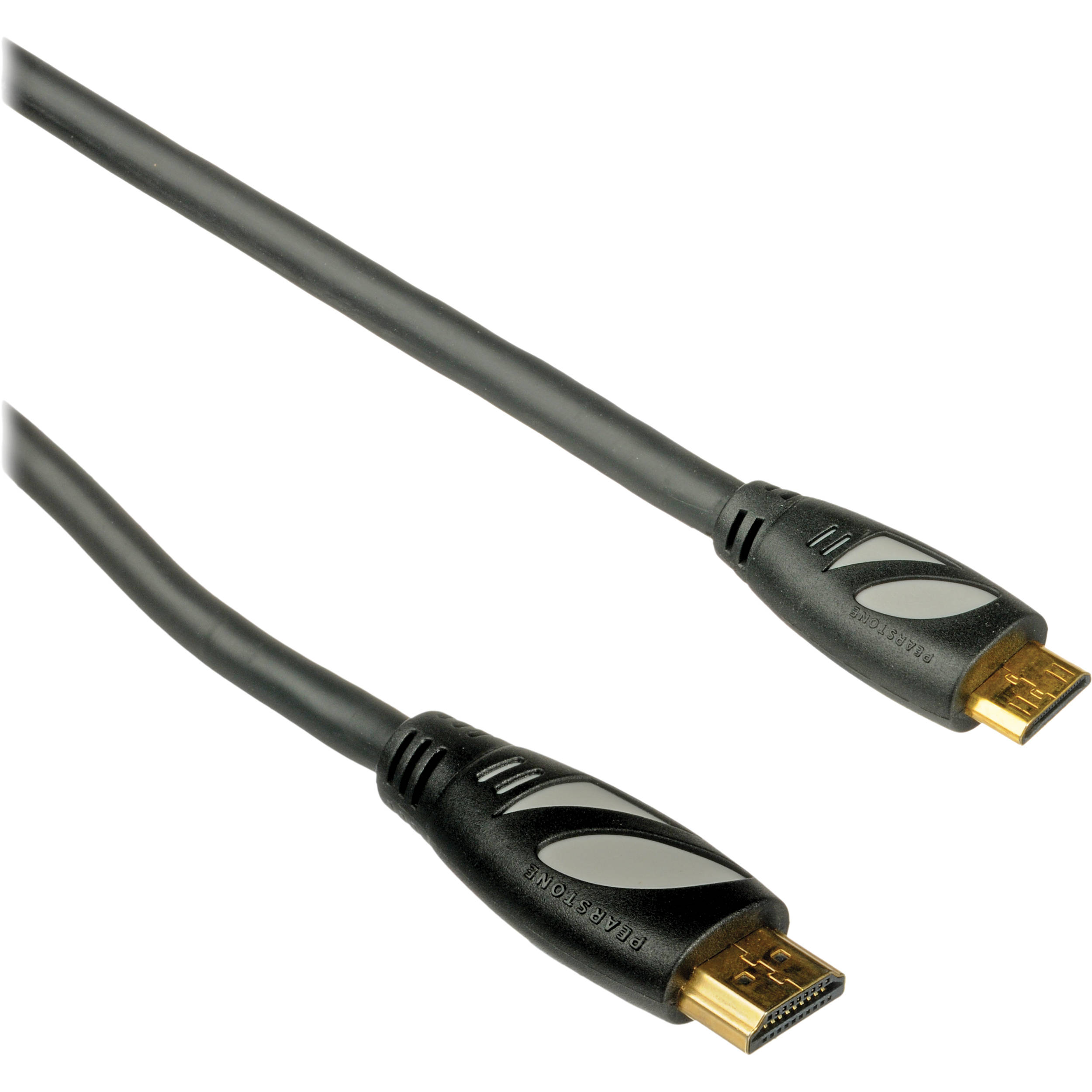pearstone hdc 106 high speed mini hdmi to hdmi cable hdc 106 b h. Black Bedroom Furniture Sets. Home Design Ideas