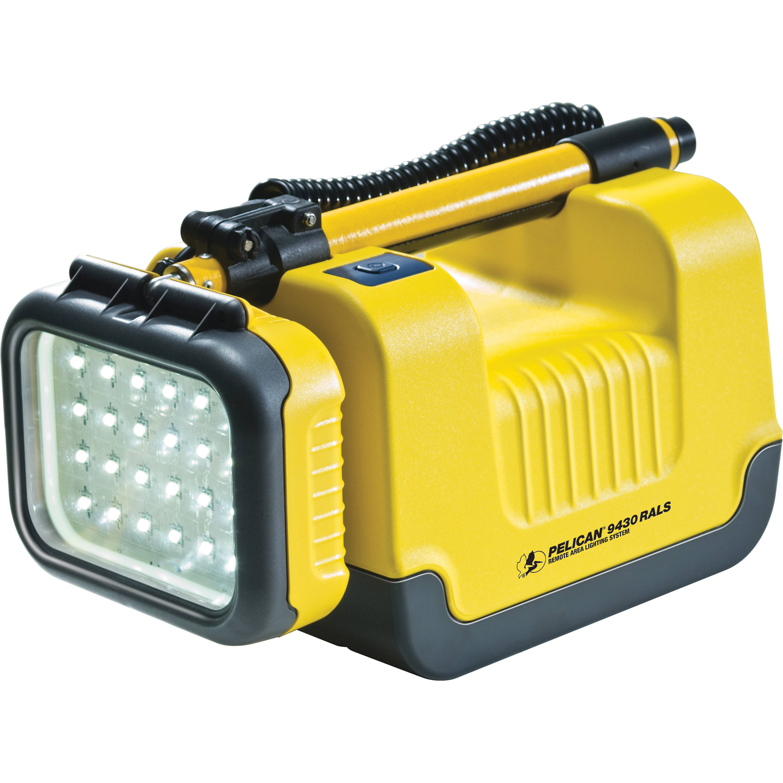 Pelican 9430 Remote Area Lighting System Yellow Emergency Lamp Battery Protector