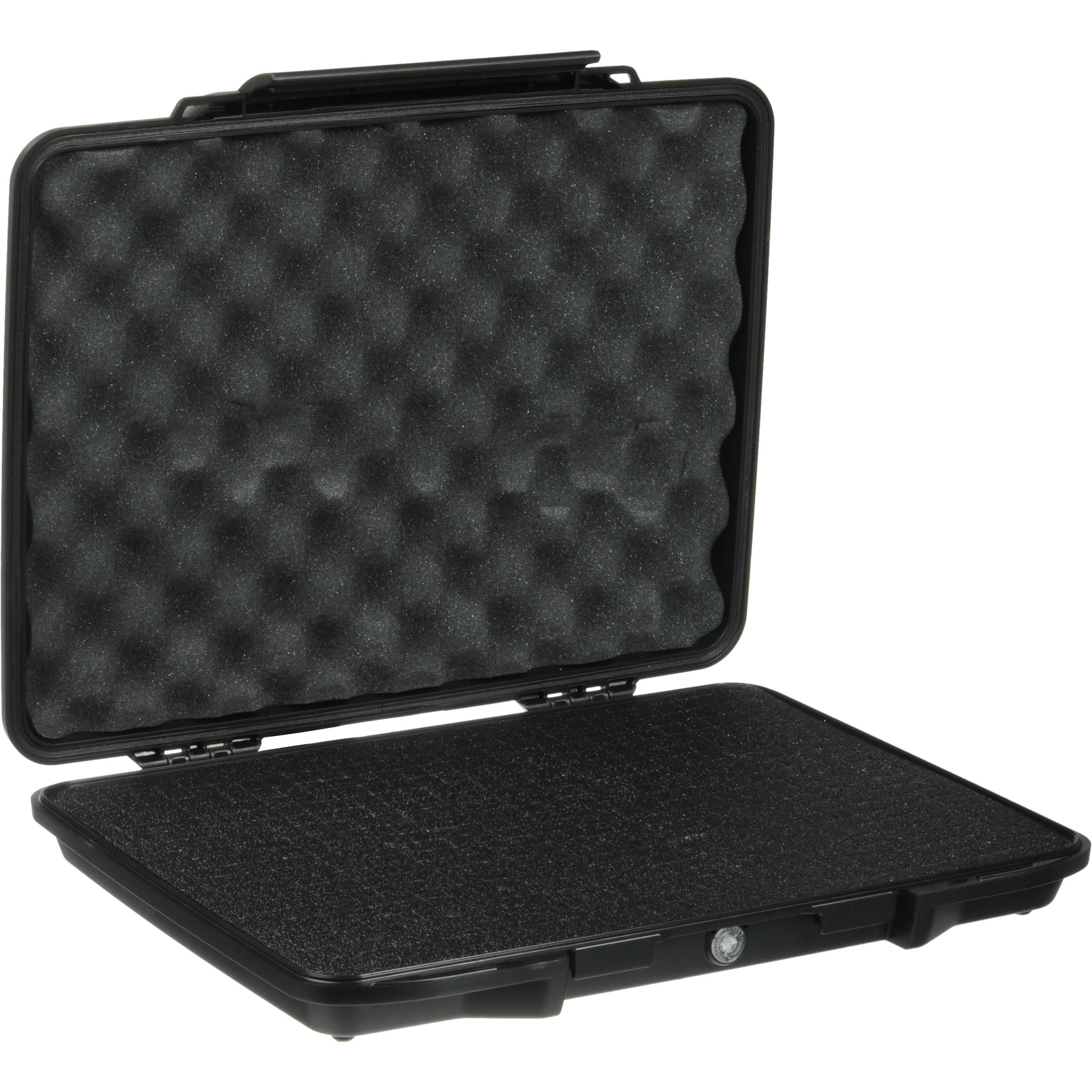 Pelican 1085 Hardback Laptop Computer Case with Foam Black