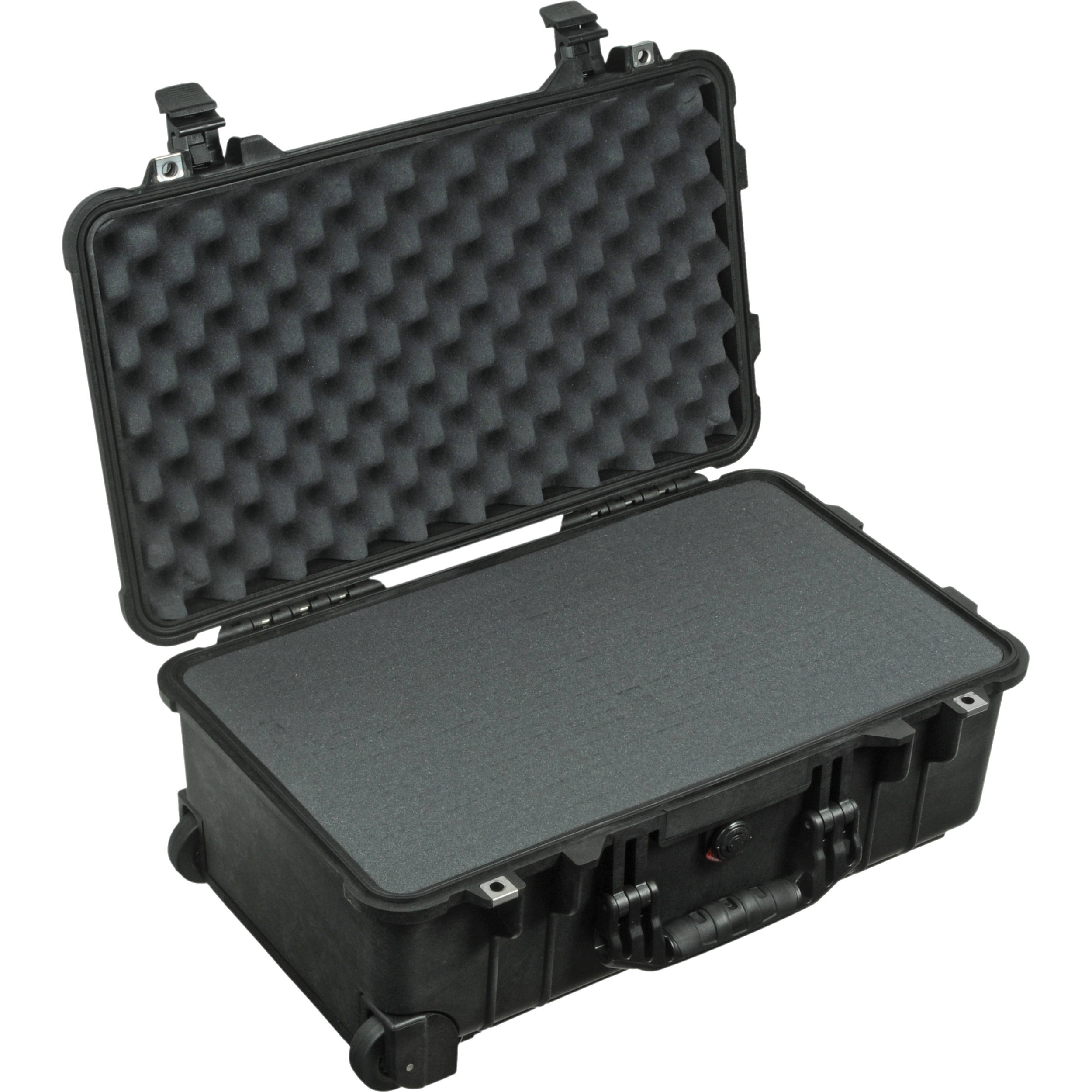 Pelican 1510 Carry On Case With Foam Set Black 1510 000 110