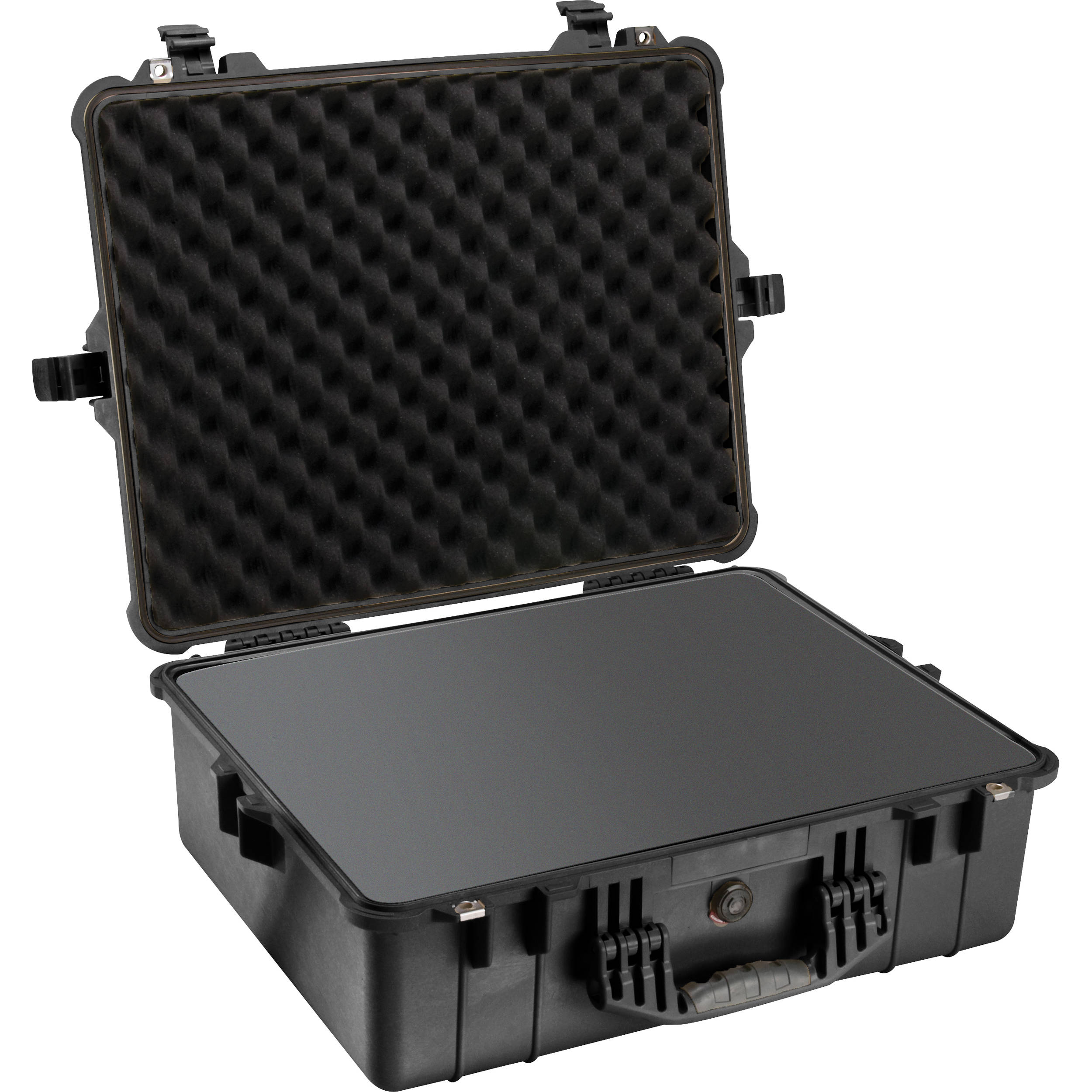 Pelican 1600 Case with Foam Set (Black) 1600-000-110 B&H Photo