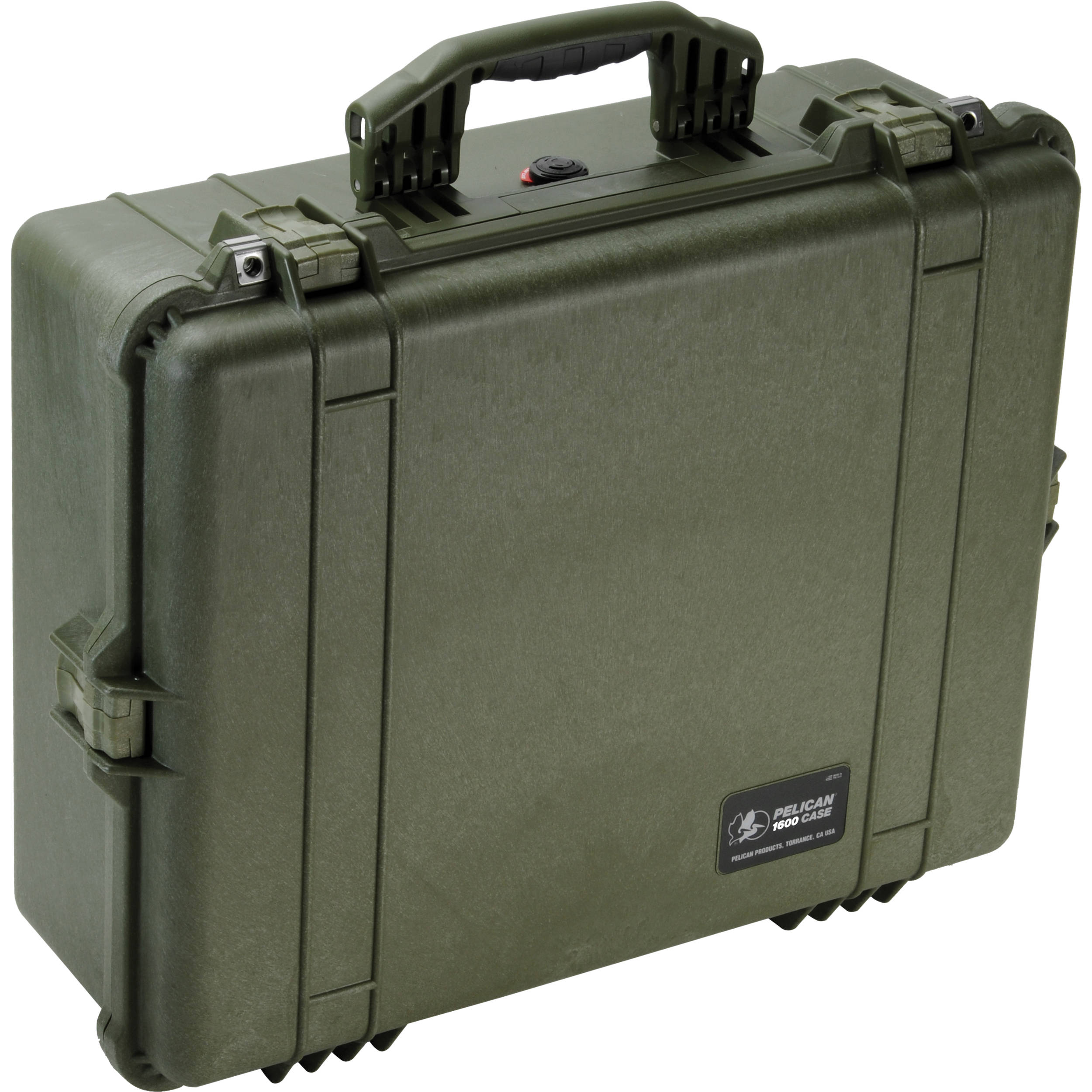 Pelican 1600 Case without Foam (Olive Drab Green) 1600-001-130