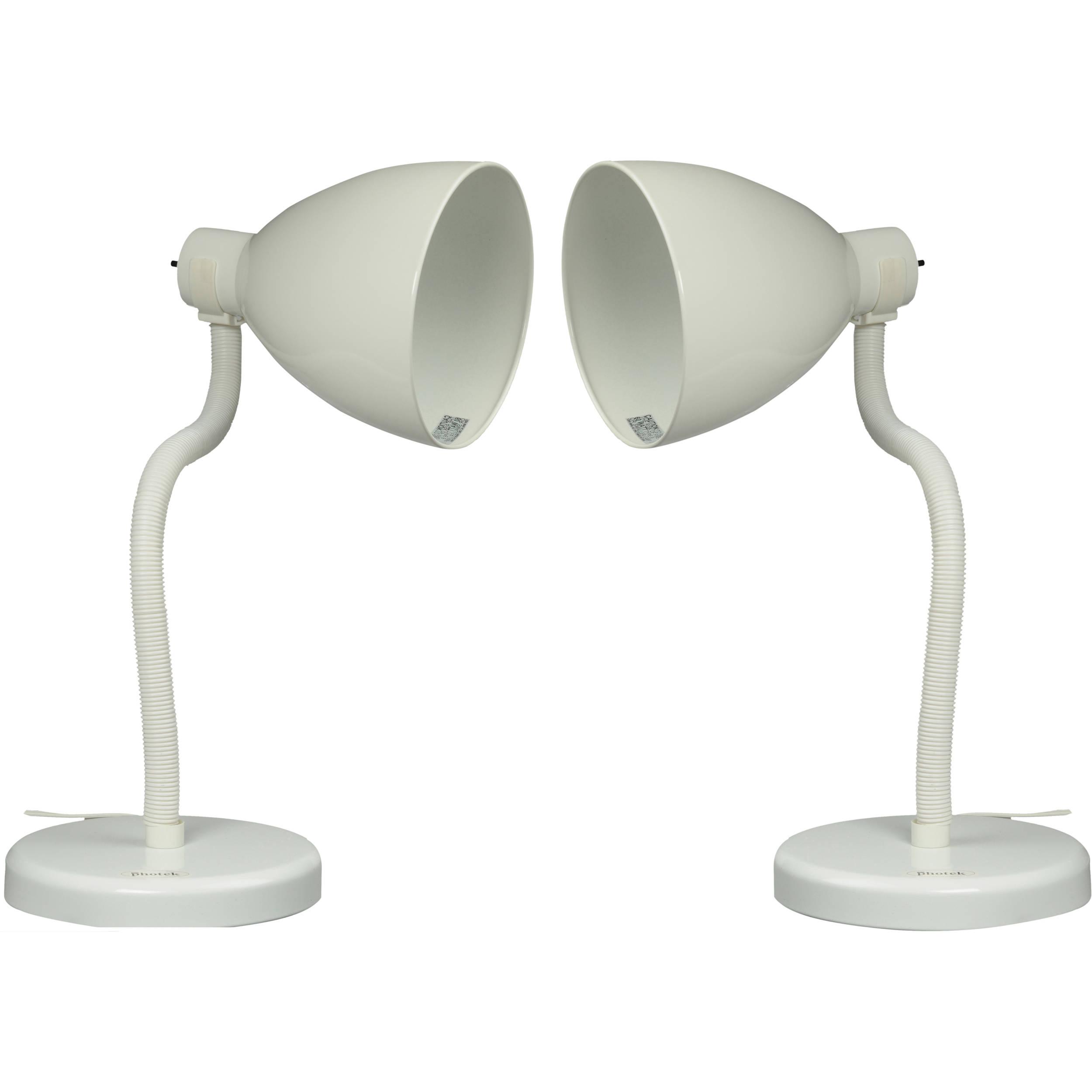 Photek LS 200 Table Top Lamp Set (2) With Bulbs