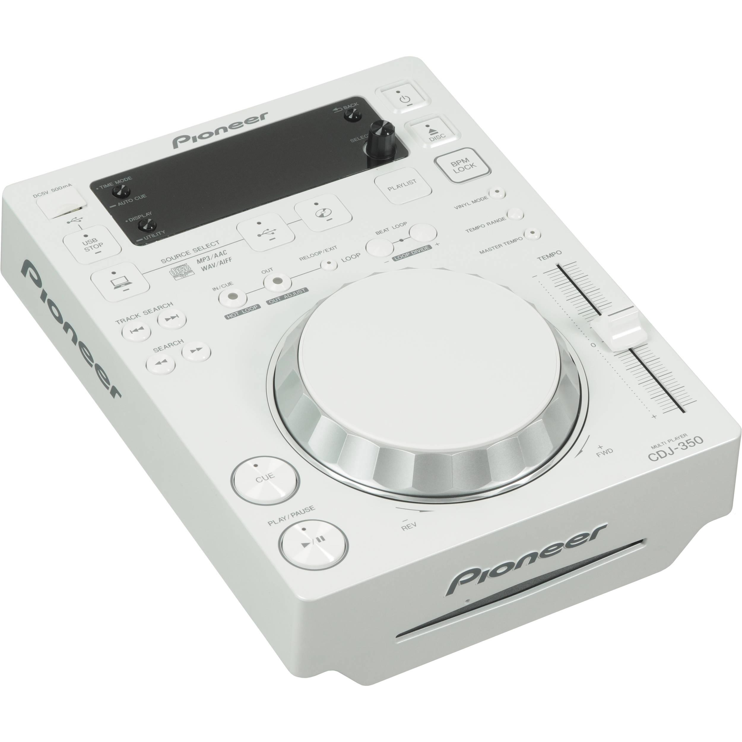 Pioneer CDJ-350-W DJ Deck Treiber Herunterladen