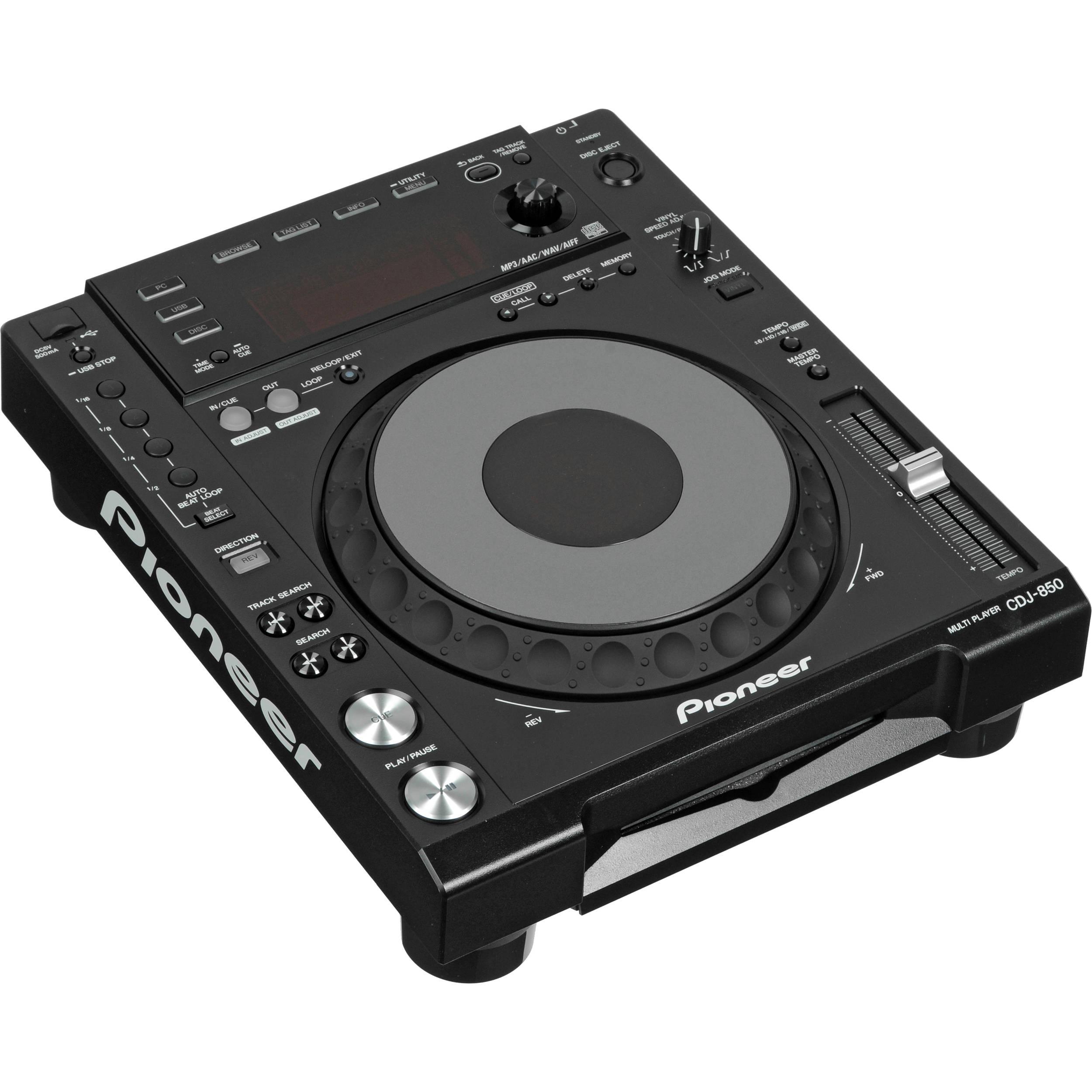 Pioneer CDJ-850-K DJ Deck Windows Vista 32-BIT