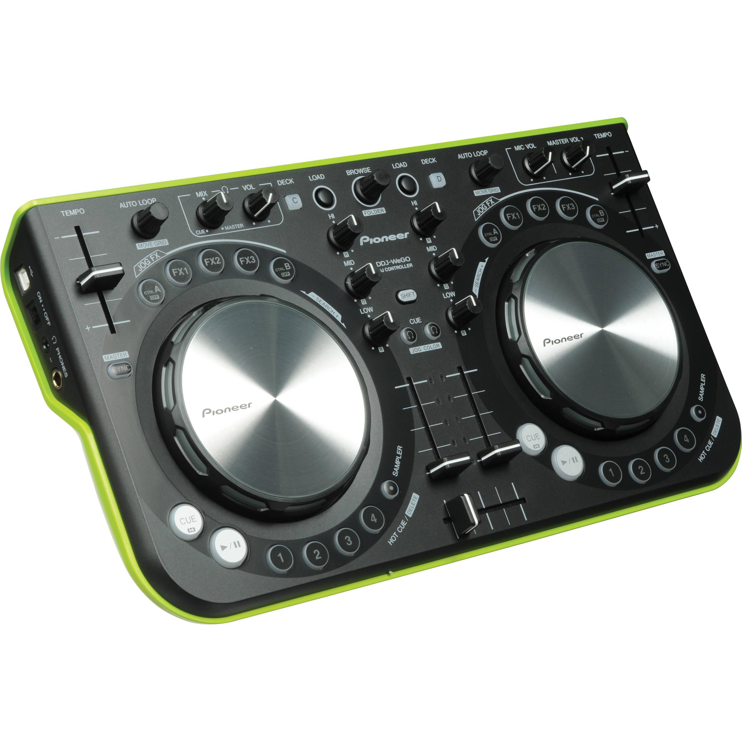Pioneer DDJ-WeGO-R DJ System Drivers Mac