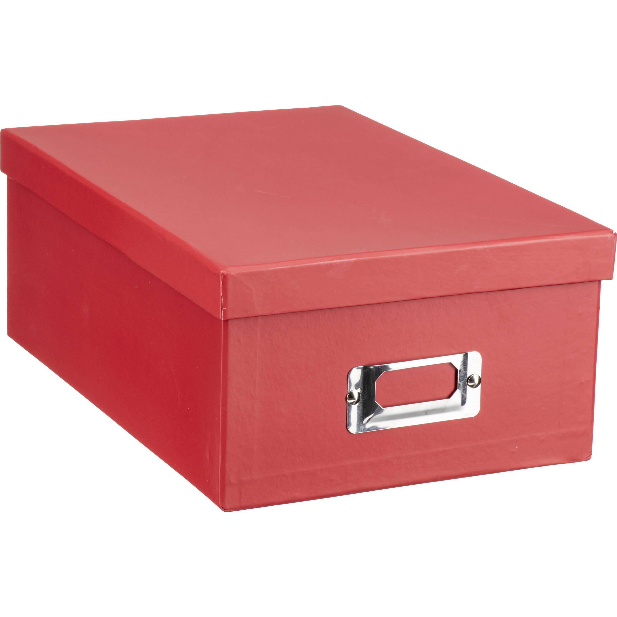 Pioneer Photo Albums Photo Storage Box (Bright Red)