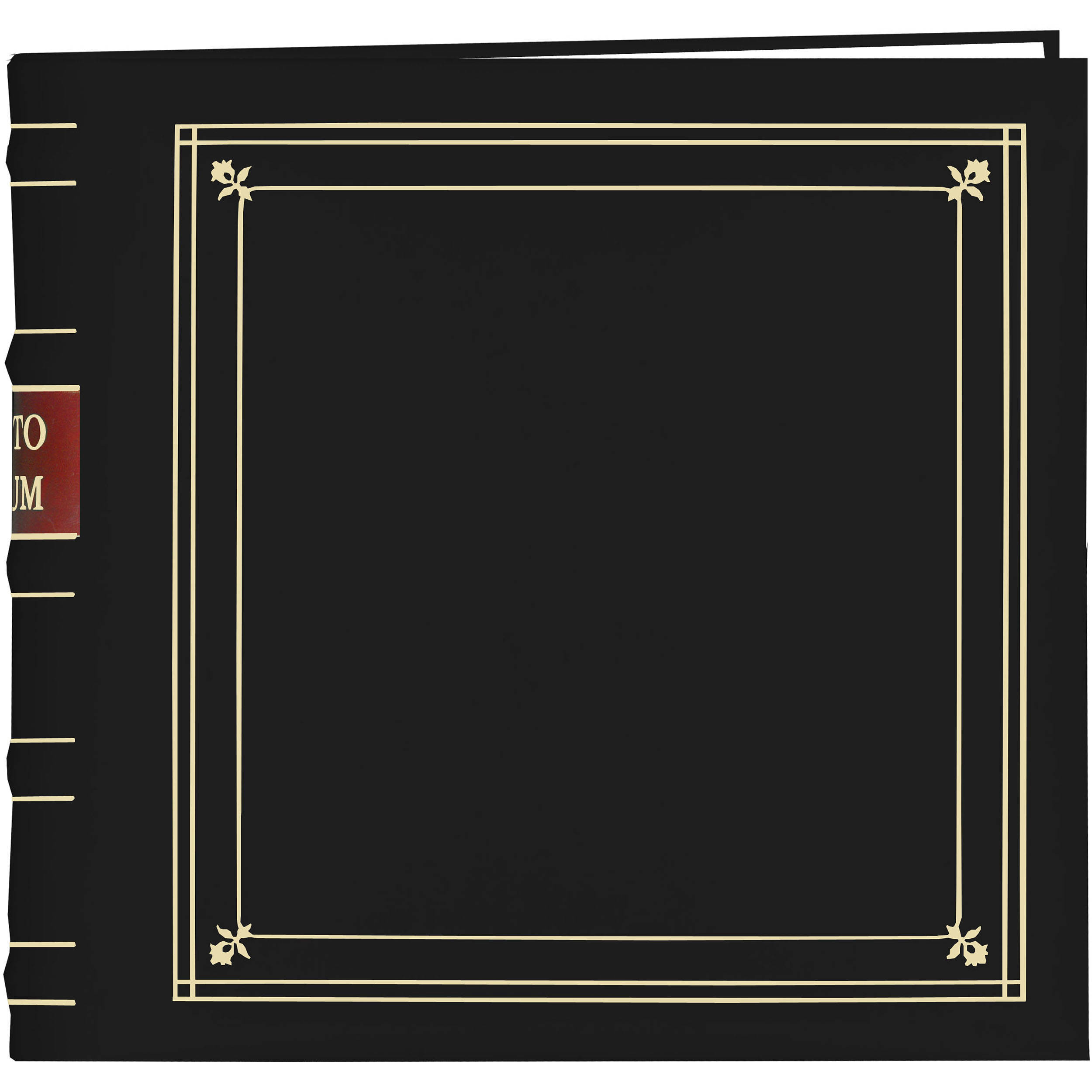 Pioneer Photo Albums Bl 200 Bonded Leather Photo Album Bl200bk